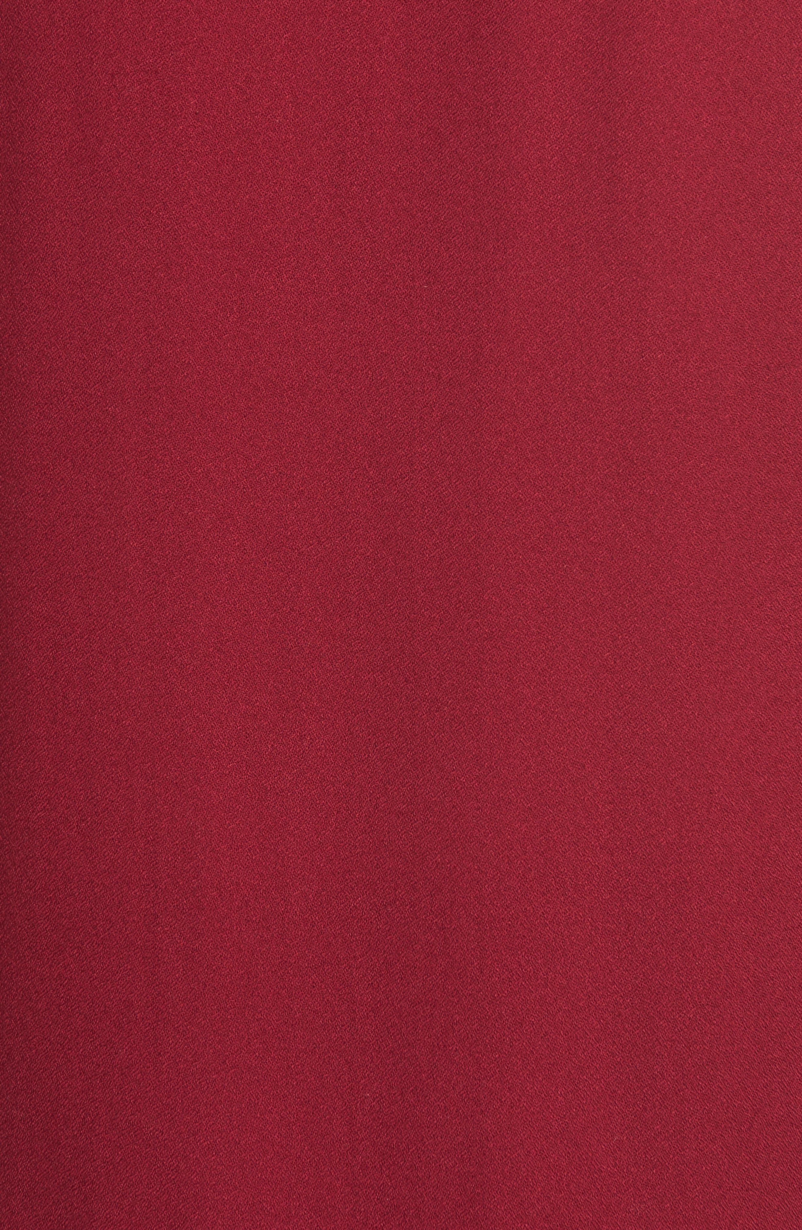 Alternate Image 5  - Ella Moss Stella Cutout Lace-Up Blouse
