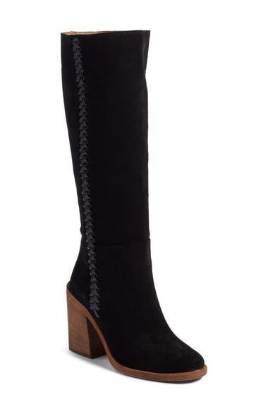070f04595f9 Ugg Maeva Knee High Boot, Black Suede