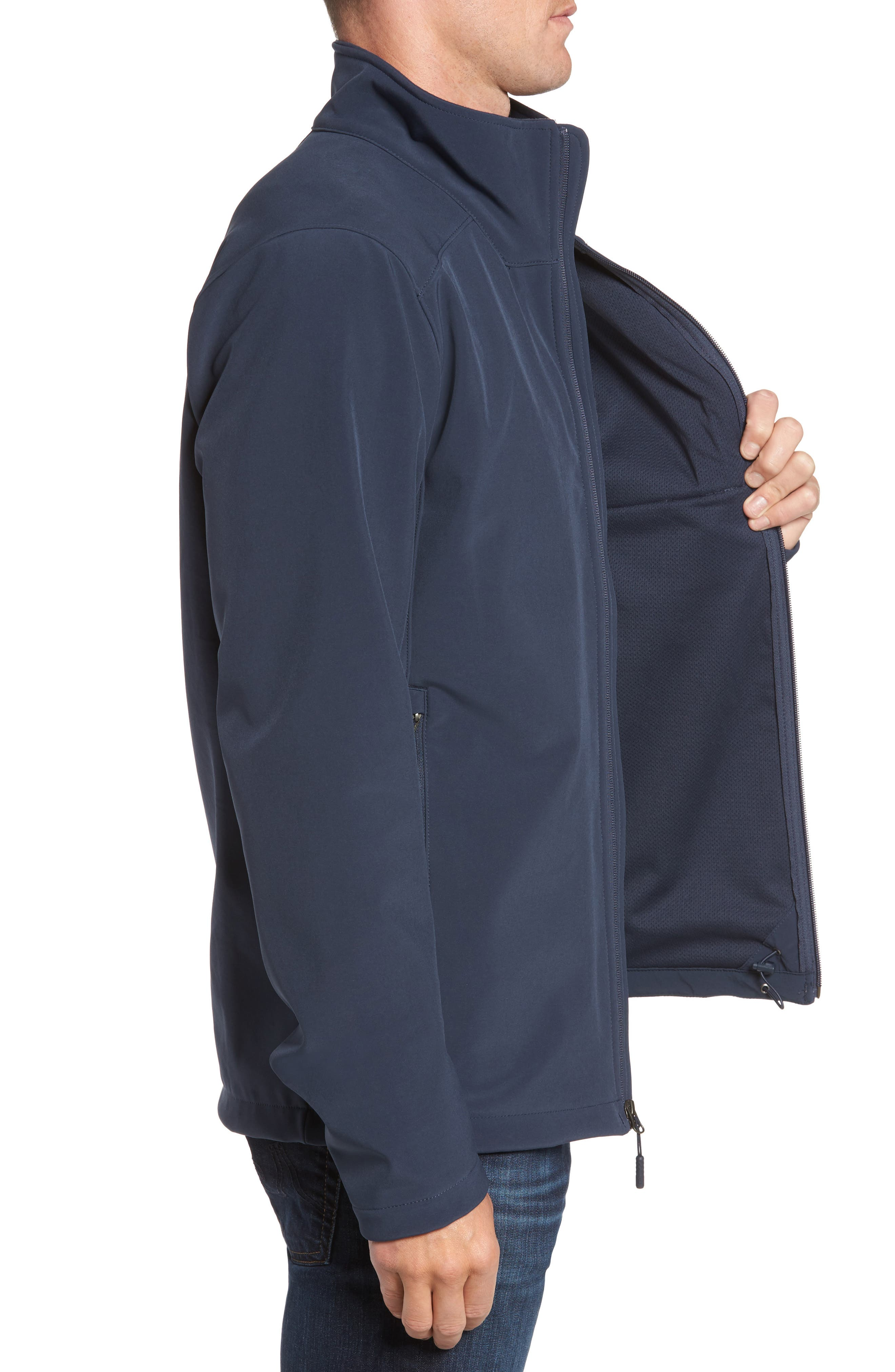 Apex Bionic 2 Water Repellent Jacket,                             Alternate thumbnail 3, color,                             Blue