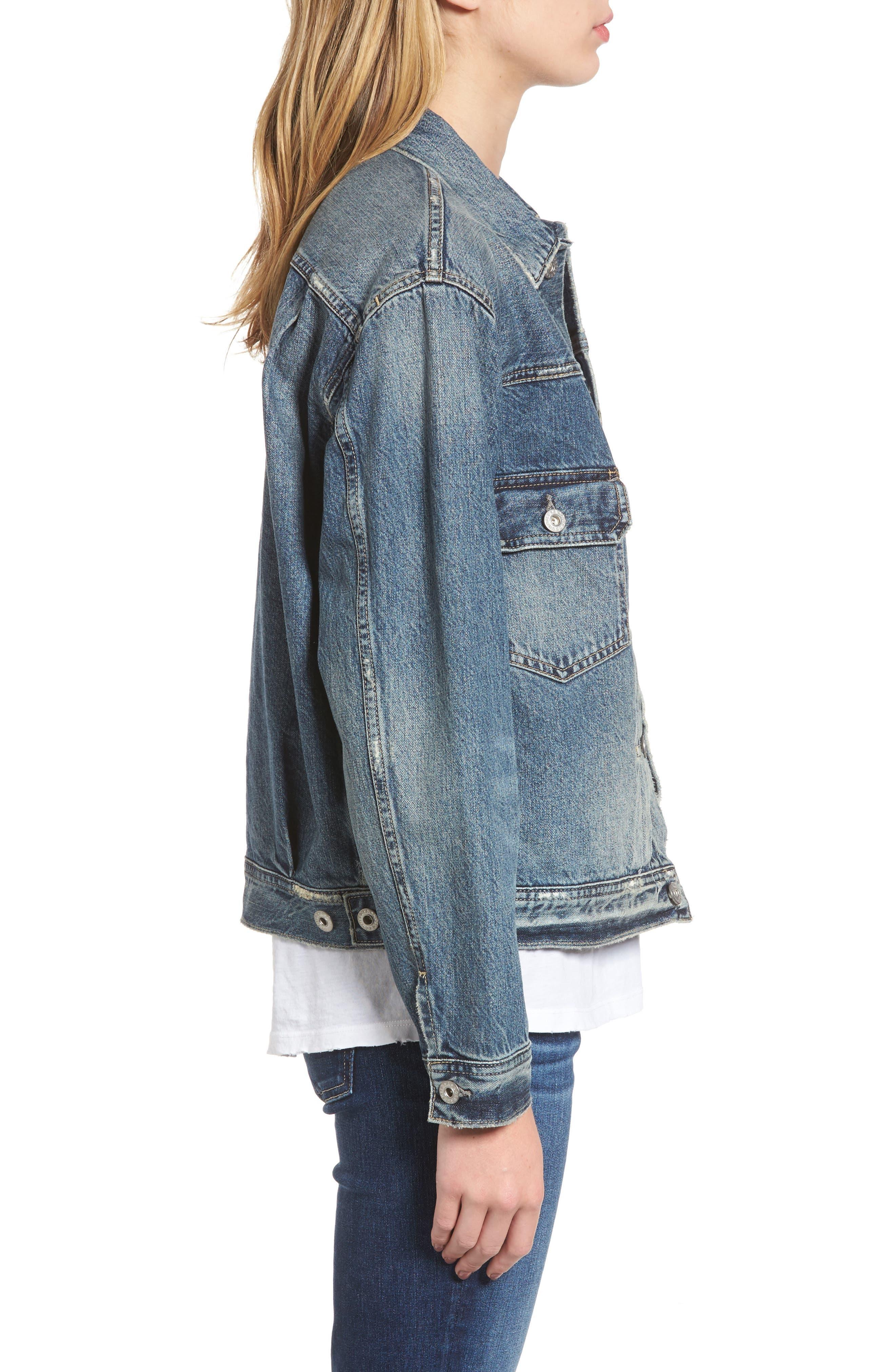 Alternate Image 3  - AG Cassie Denim Jacket