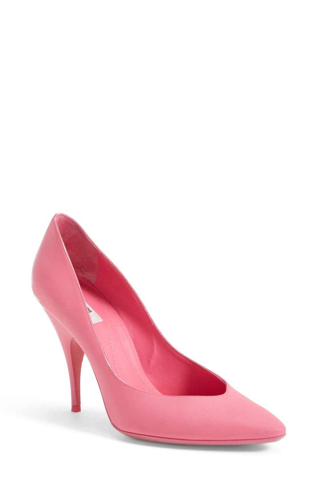 Alternate Image 1 Selected - Moschino Leather Pump (Women)