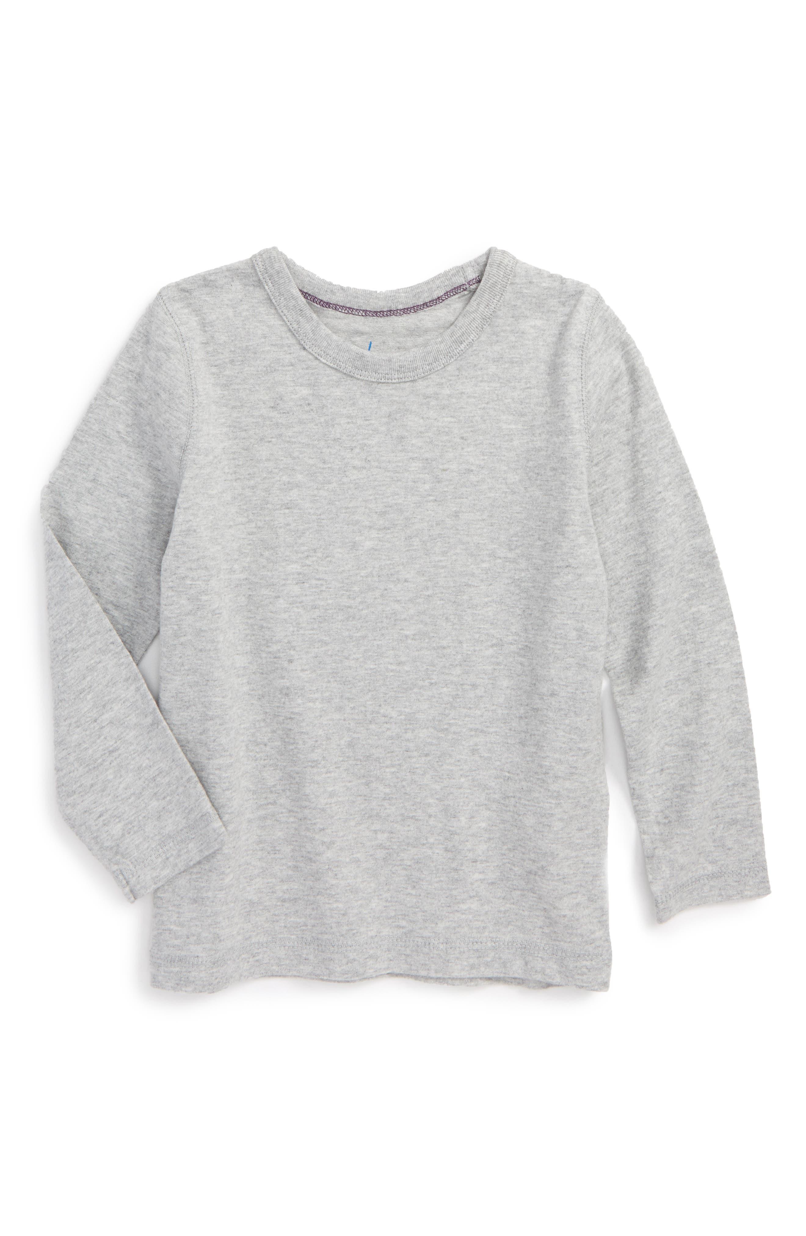 Mini Boden Supersoft Solid T-Shirt (Toddler Boys, Little Boys & Big Boys)