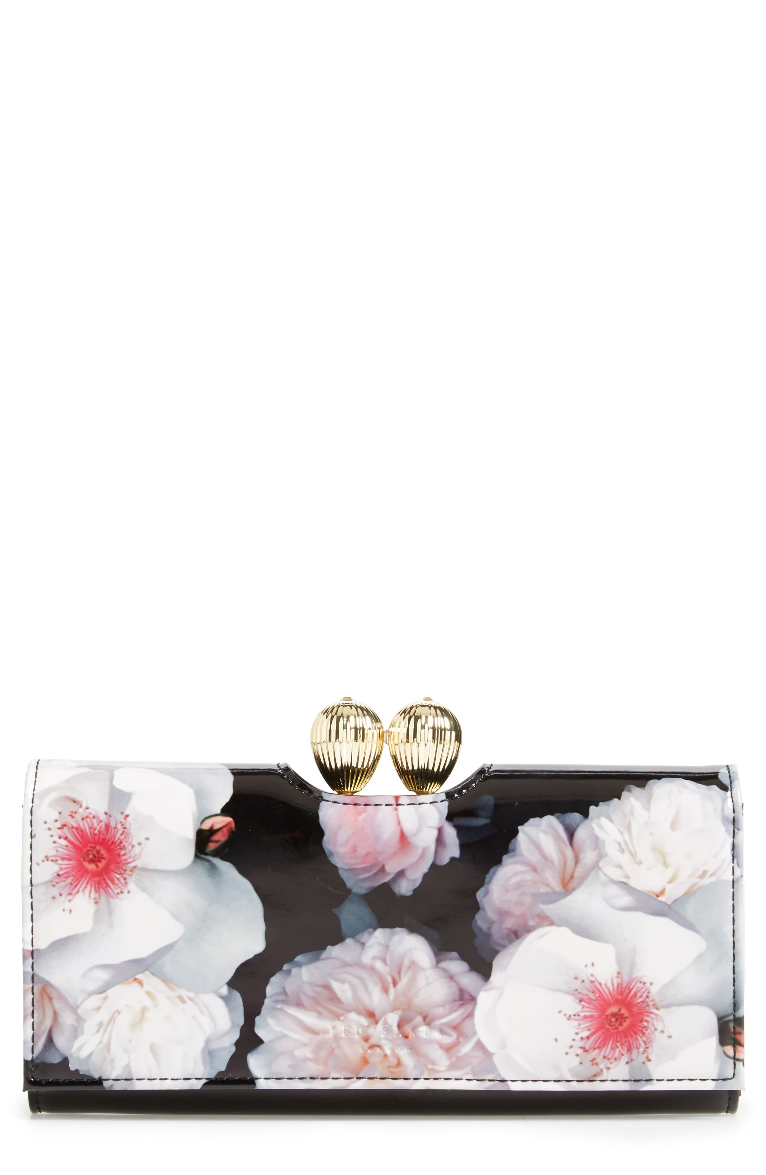 Alternate Image 1 Selected - Ted Baker London Sundayy Chelsea Leather Matinée Wallet