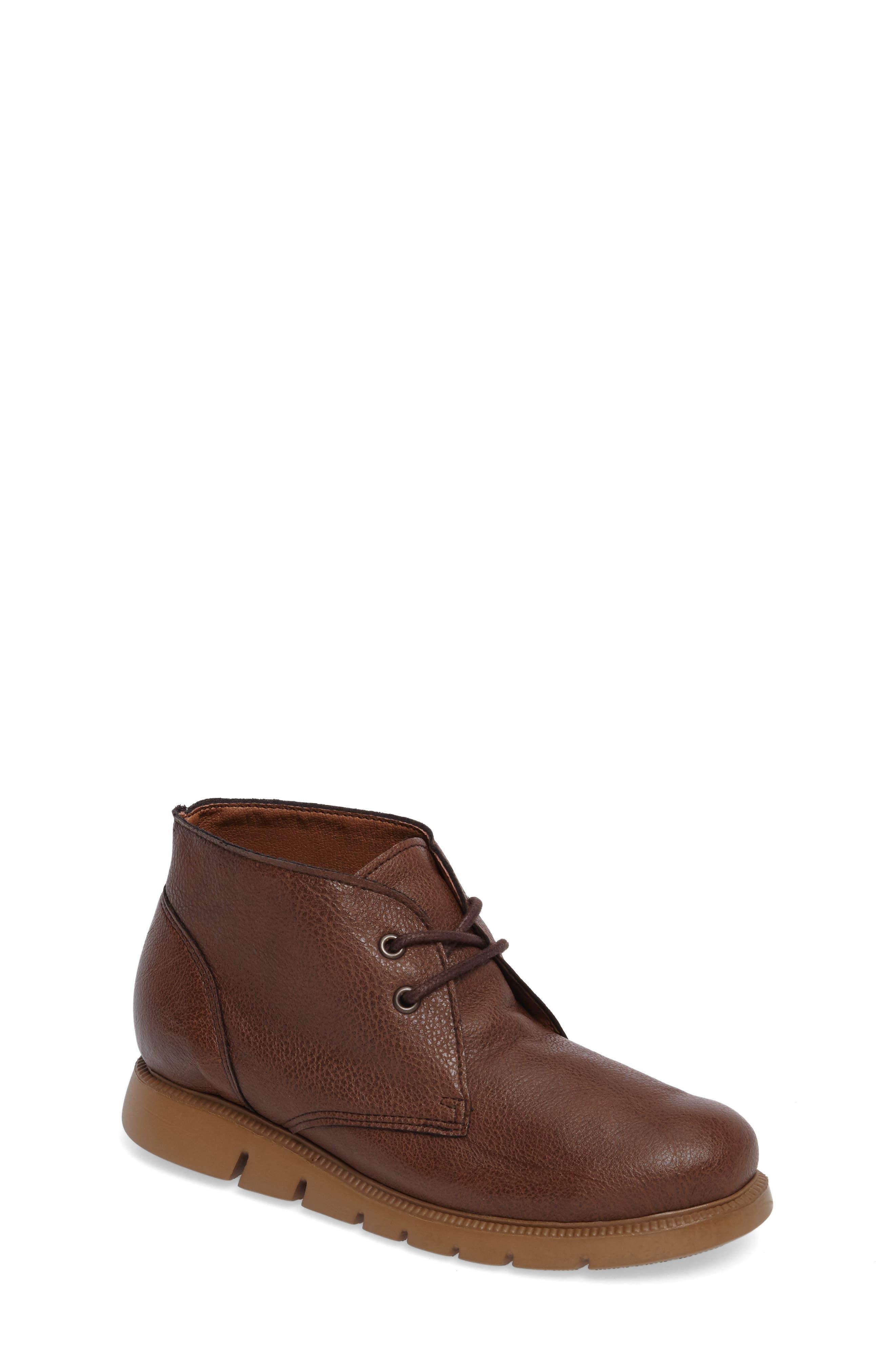 Weslie Chukka Boot,                         Main,                         color, Dark Tan