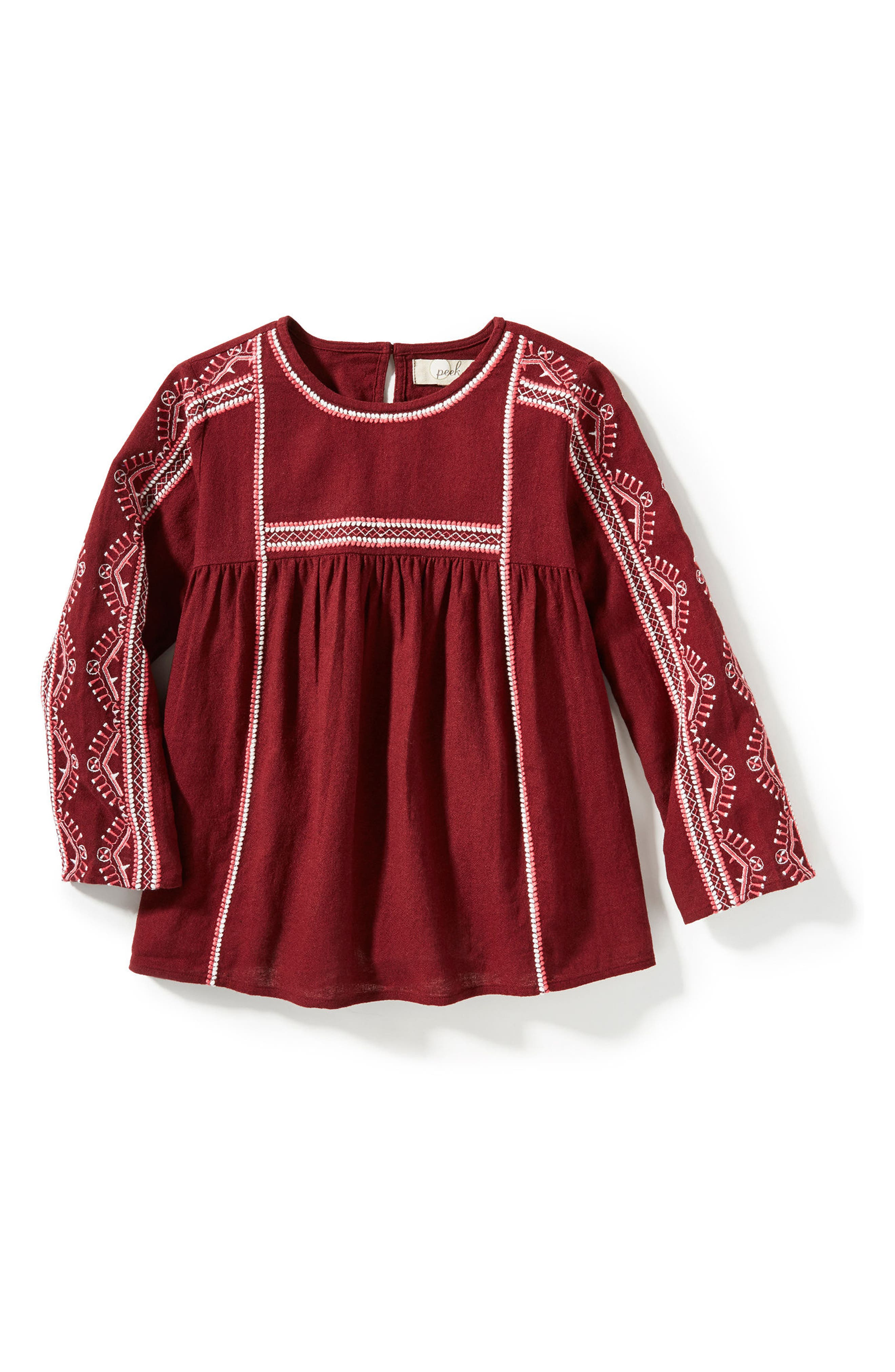 Peek Sunita Top (Toddler Girls, Little Girls & Big Girls)