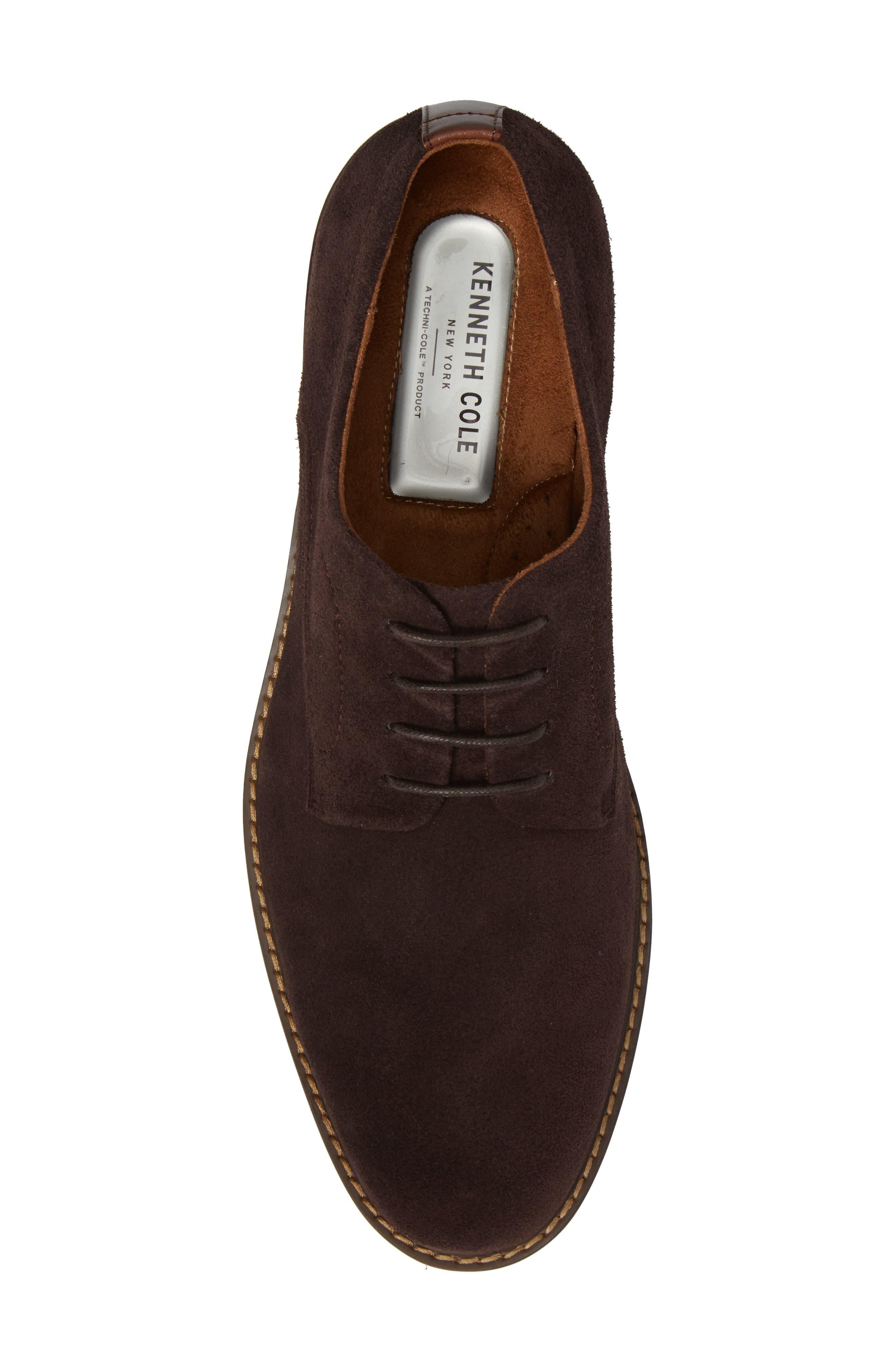 Buck Shoe,                             Alternate thumbnail 5, color,                             Chocolate Suede