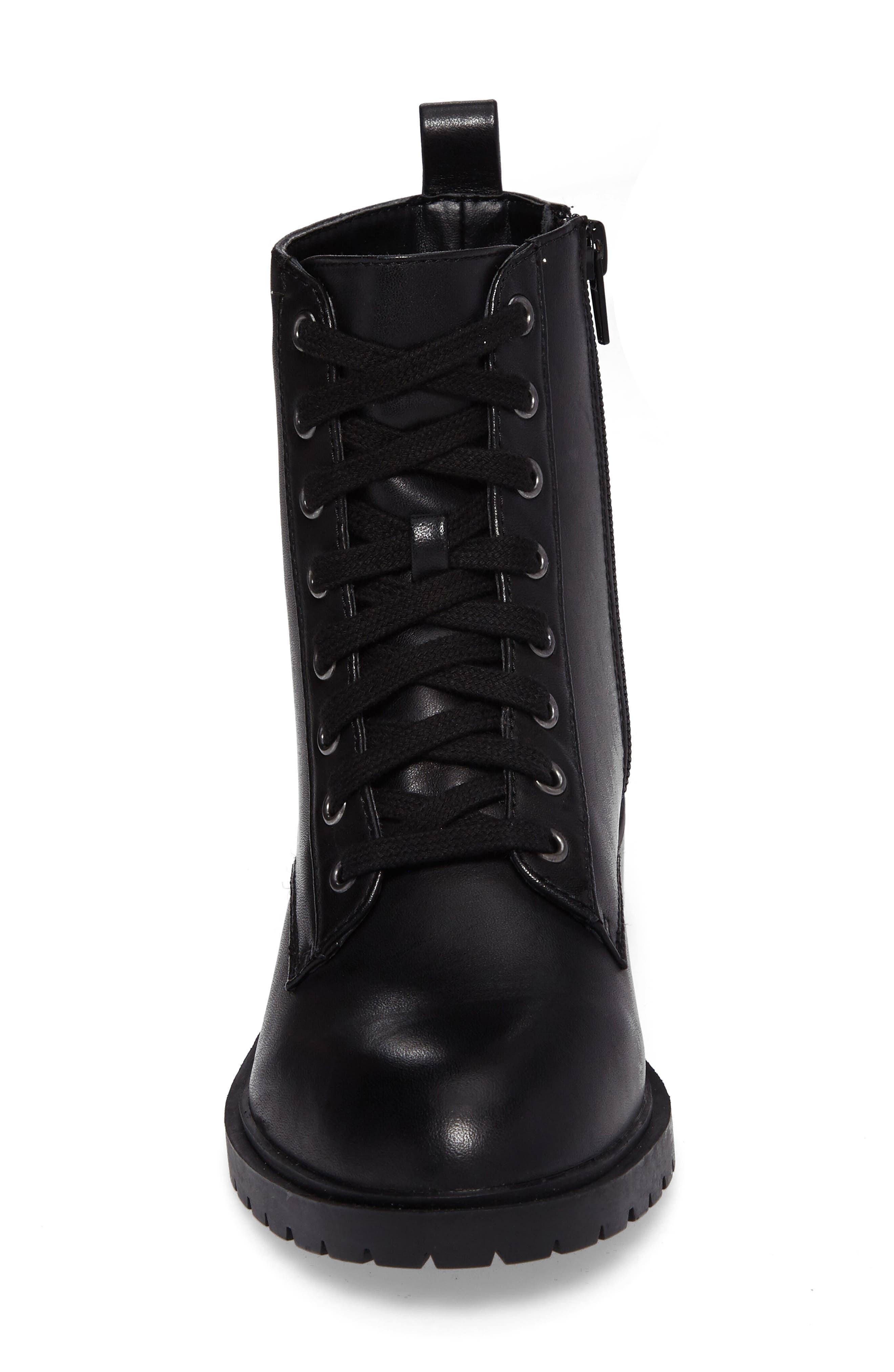 Alternate Image 4  - Steve Madden Officer Combat Boot (Women)