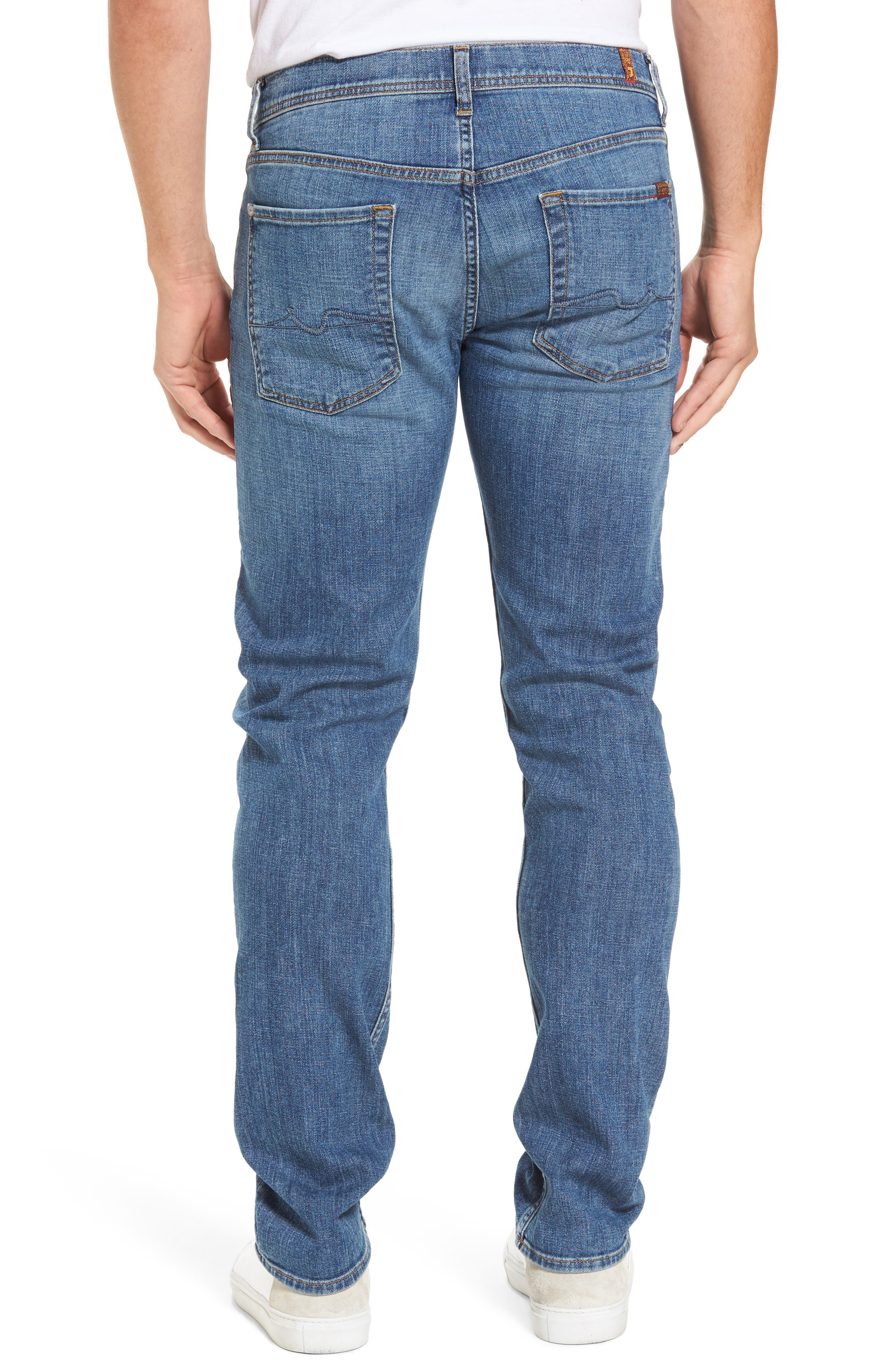 The Standard Straight Fit Jeans,                             Alternate thumbnail 2, color,                             Robinson