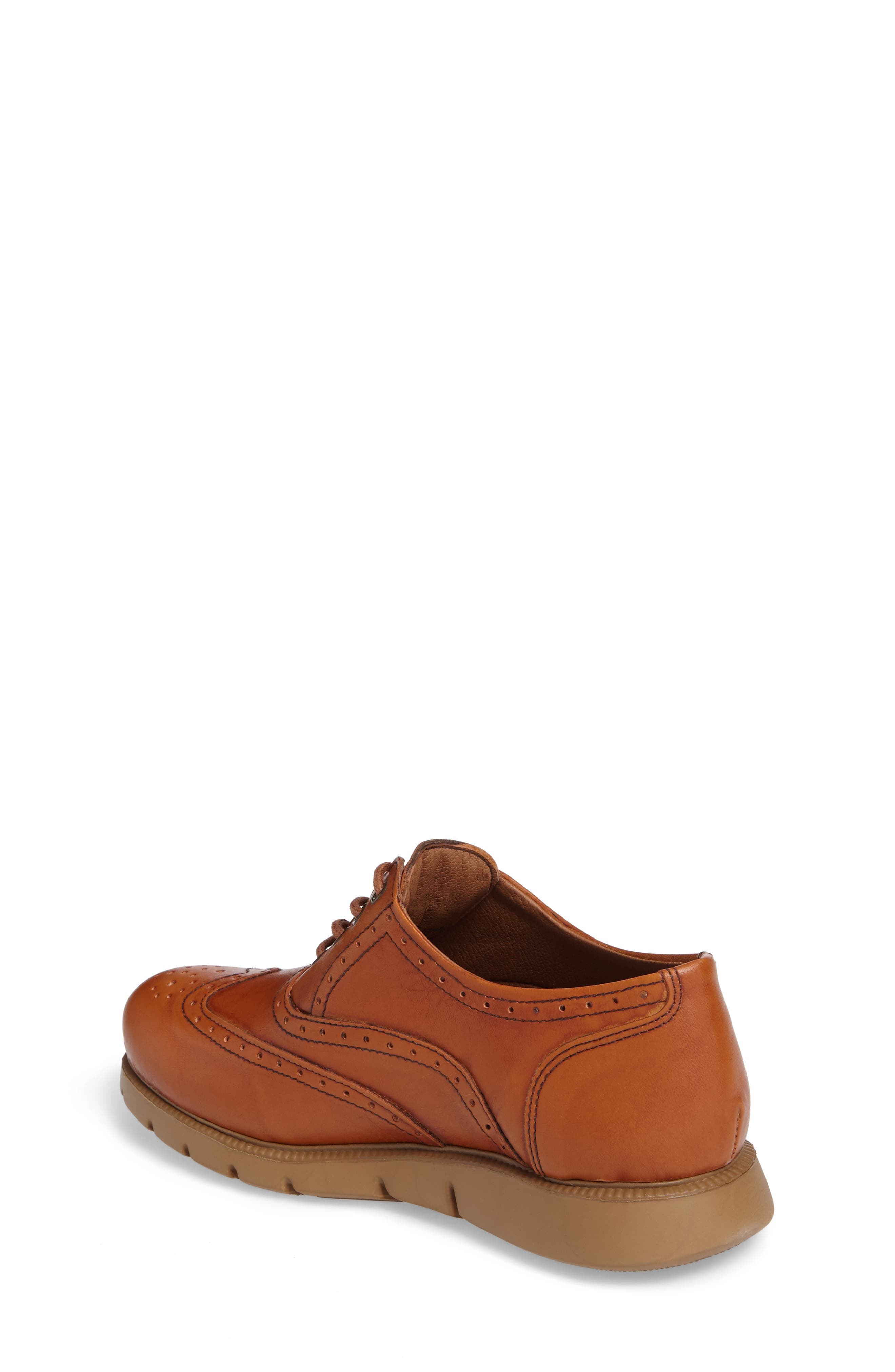 Warble Wingtip Oxford,                             Alternate thumbnail 2, color,                             Naturale