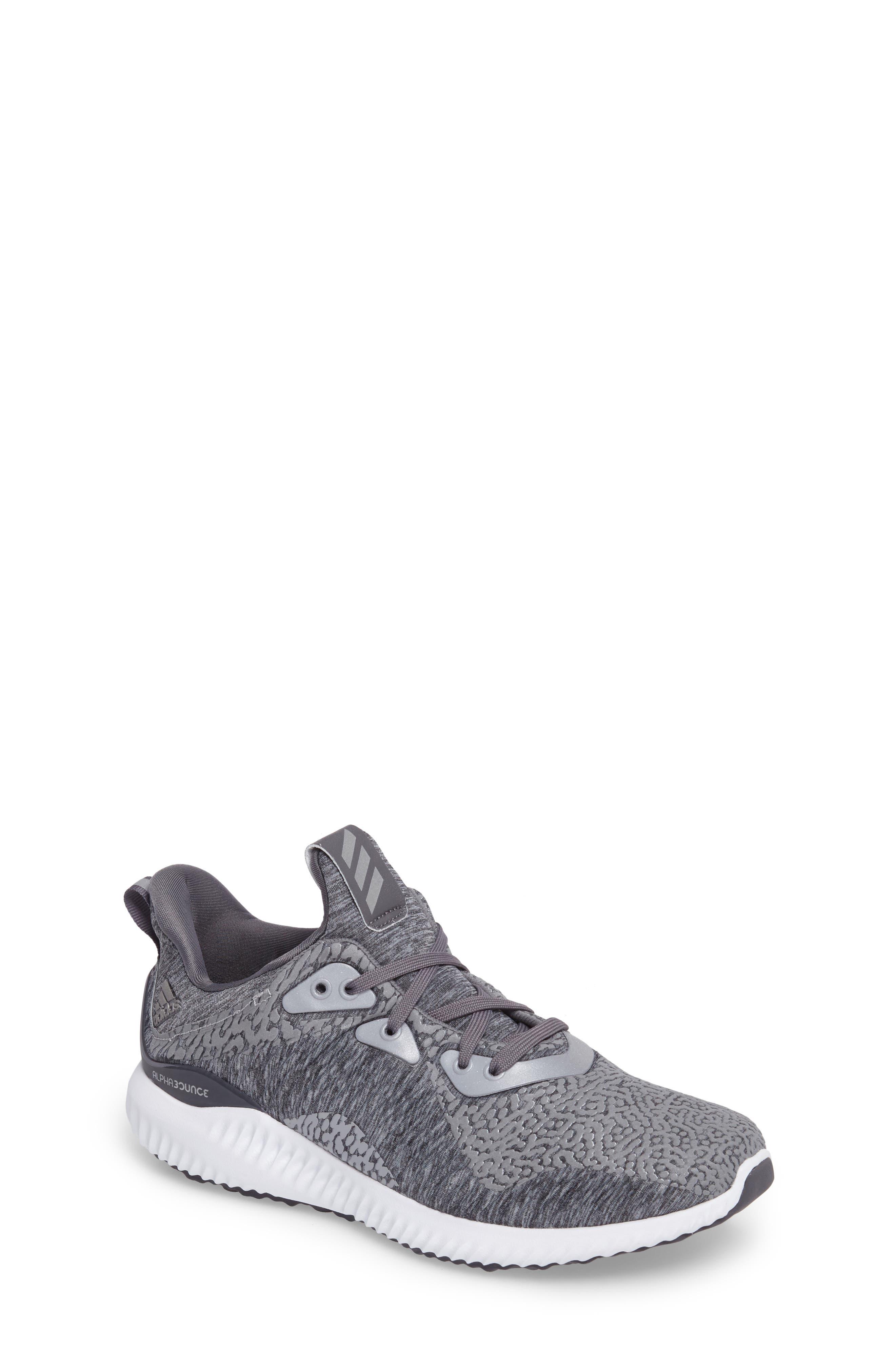 AlphaBounce Sneaker,                         Main,                         color, Medium Grey Heather