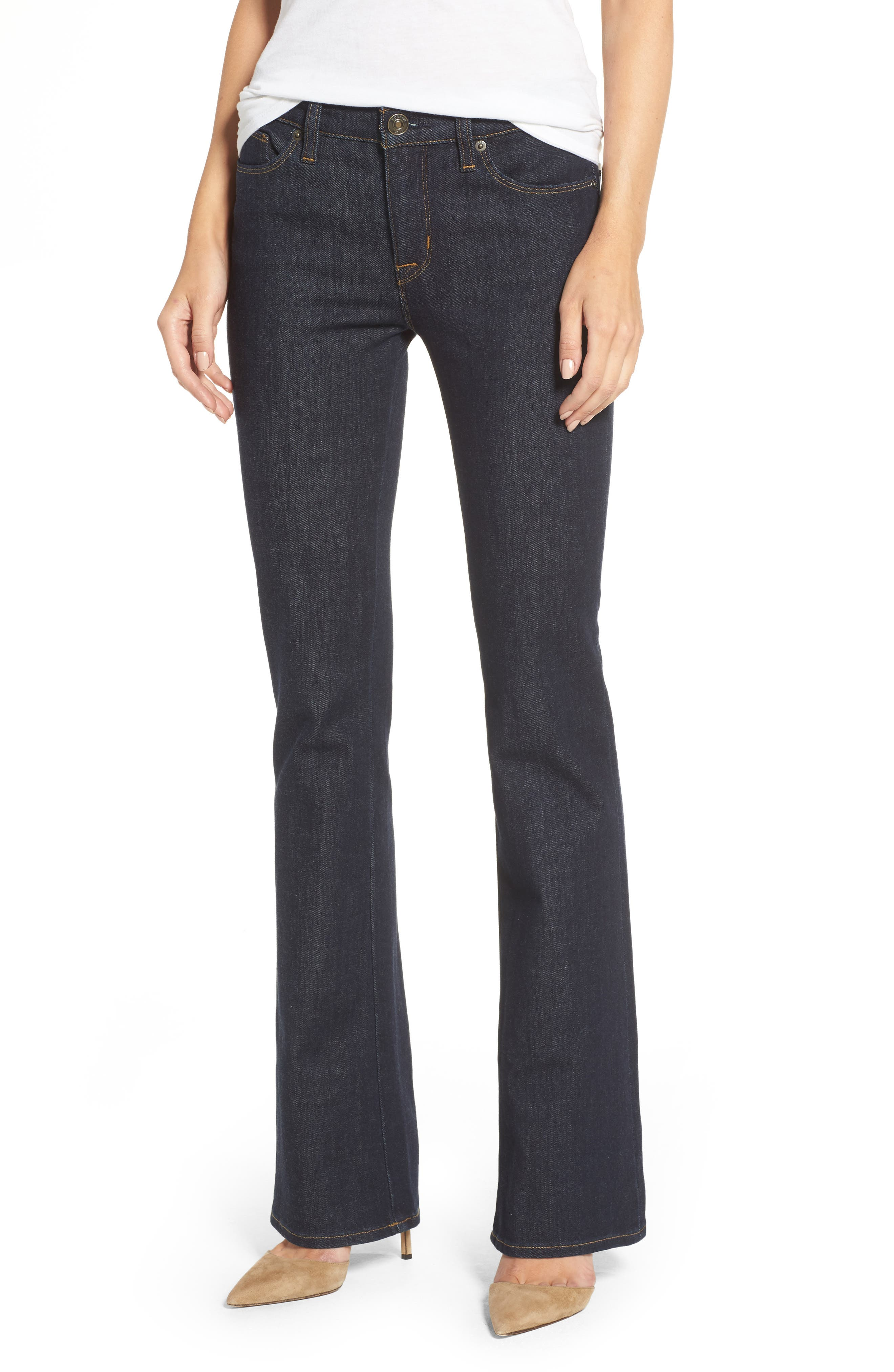 Hudson Drew Bootcut Jeans,                             Main thumbnail 1, color,                             Timeless