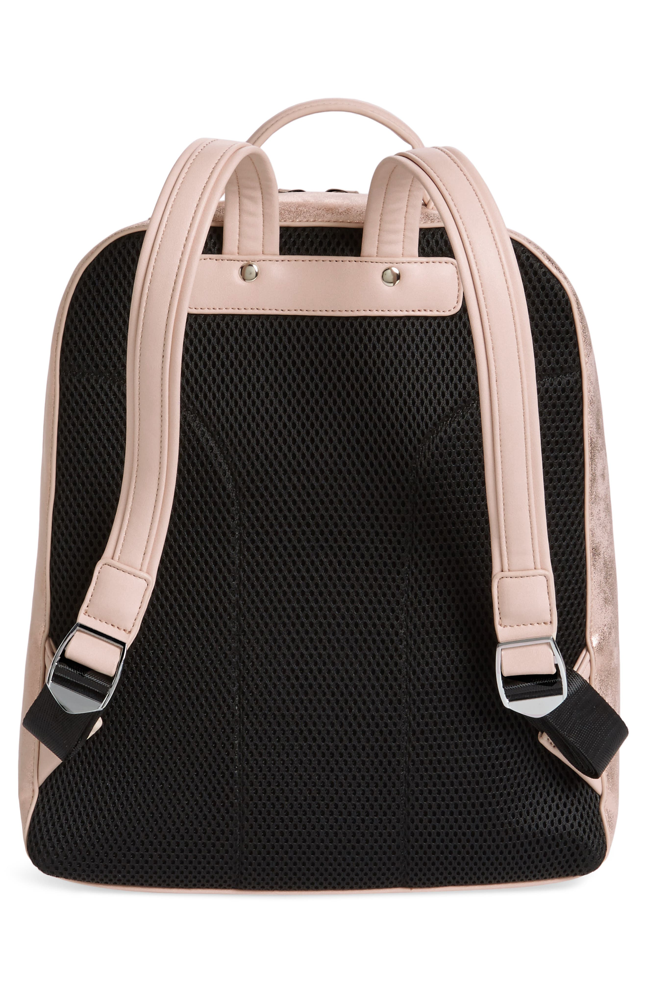 Brooke City Backpack,                             Alternate thumbnail 3, color,                             Blush