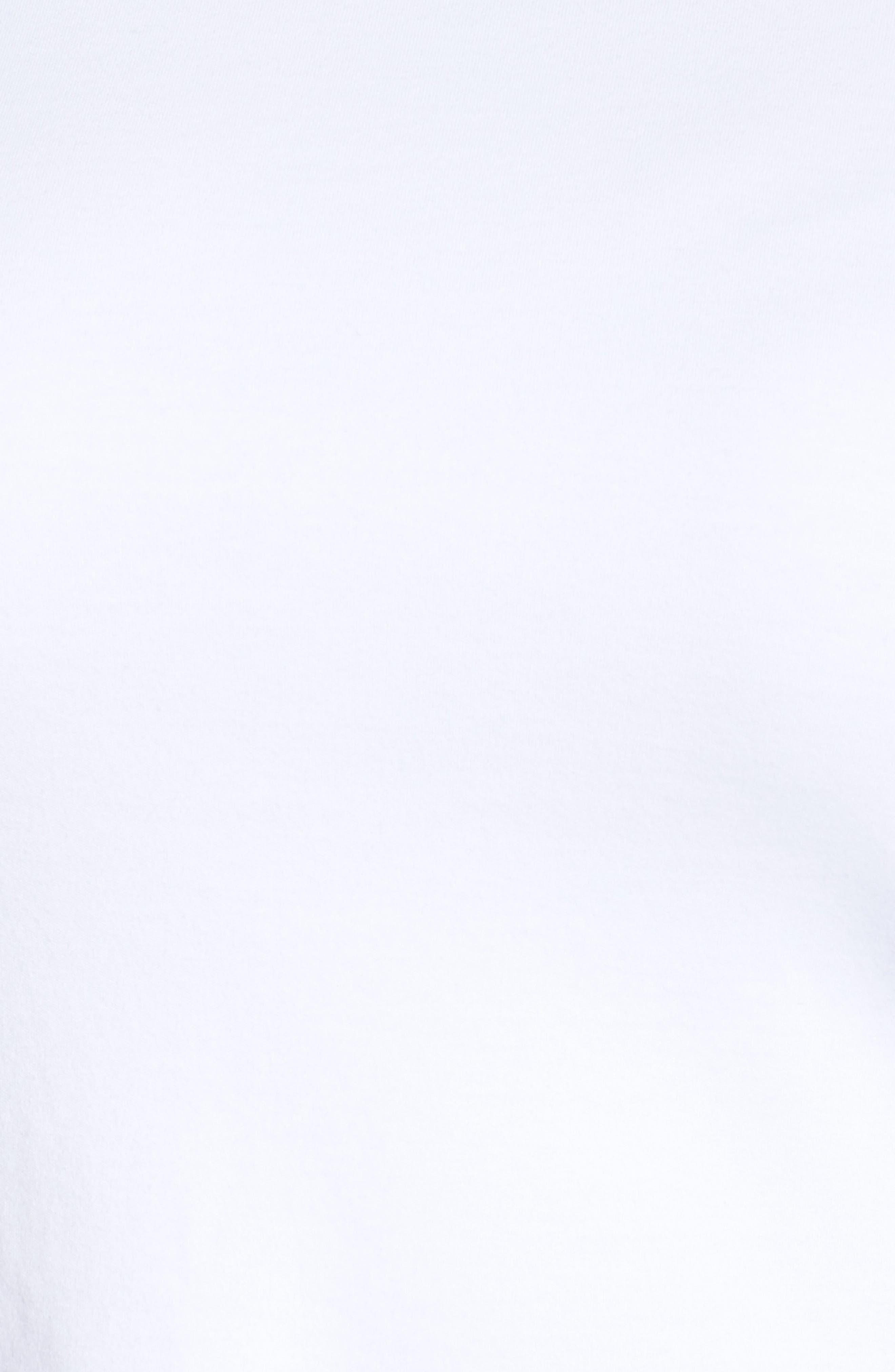 Alternate Image 5  - Eileen Fisher Organic Cotton Ballet Neck Top (Plus Size)