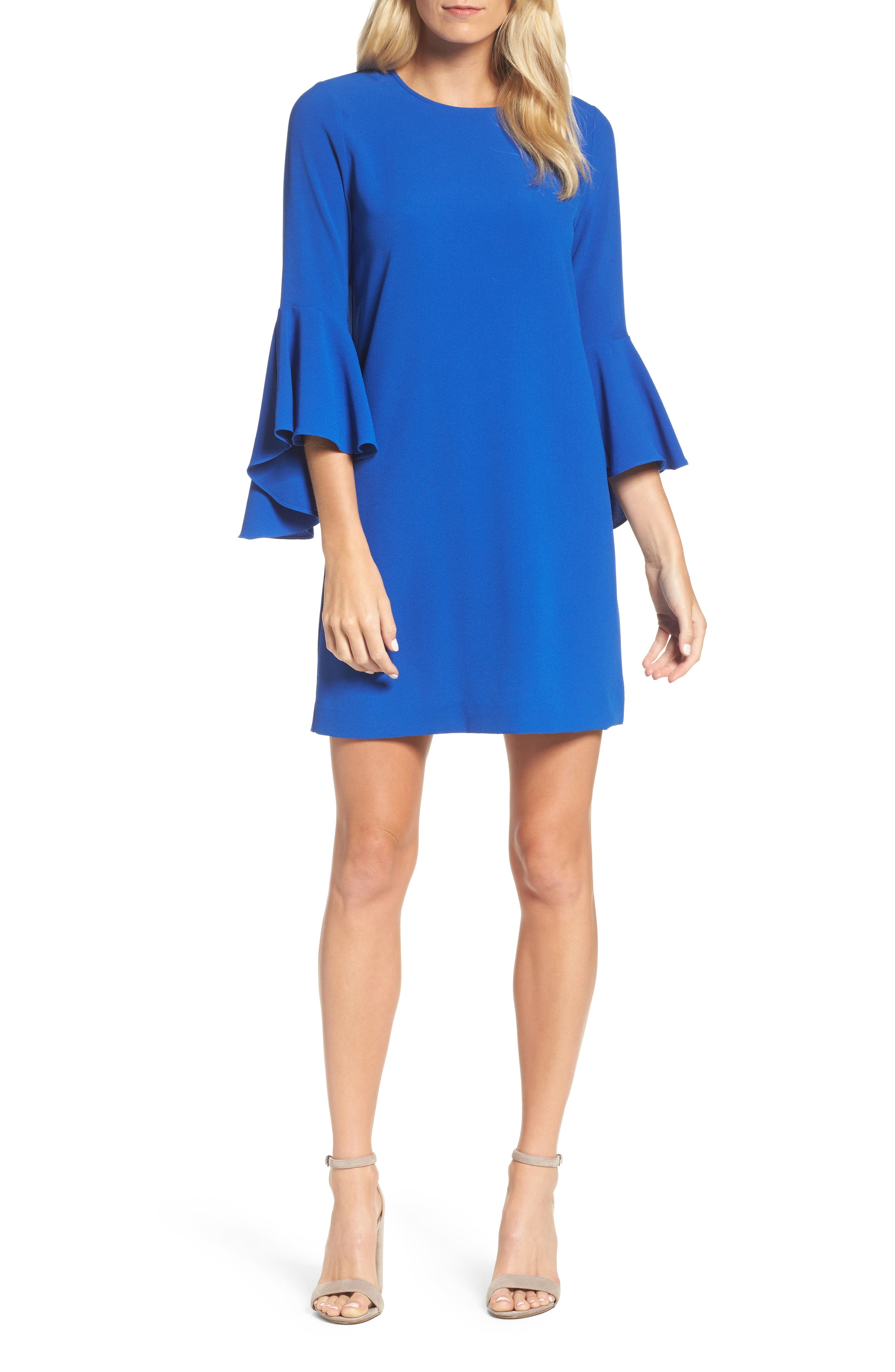 Felicity & Coco Bell Sleeve Shift Dress (Nordstrom Exclusive)
