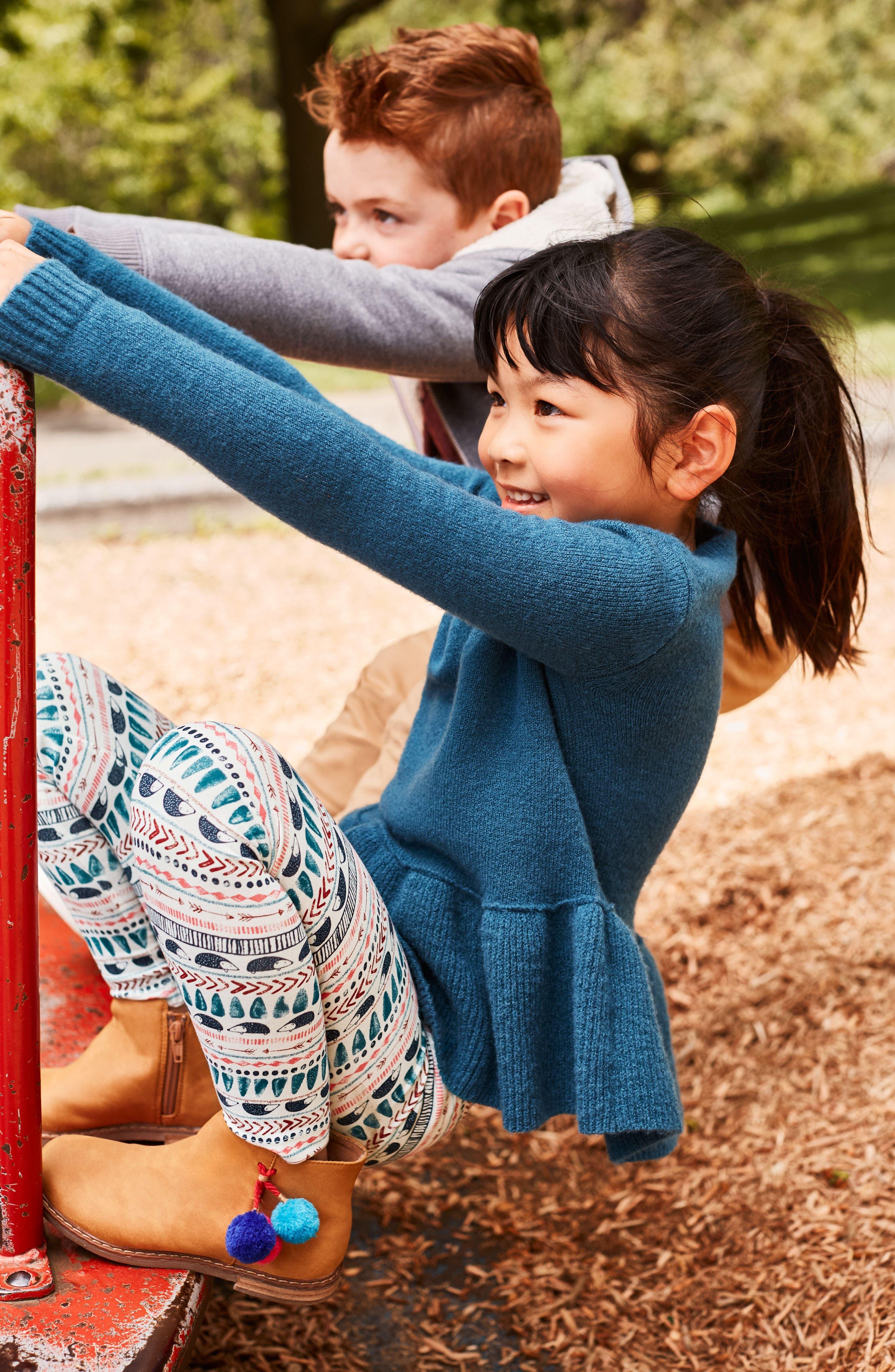 Alternate Image 4  - Tucker + Tate Ruffle Hem Sweater (Toddler Girls, Little Girls & Big Girls)