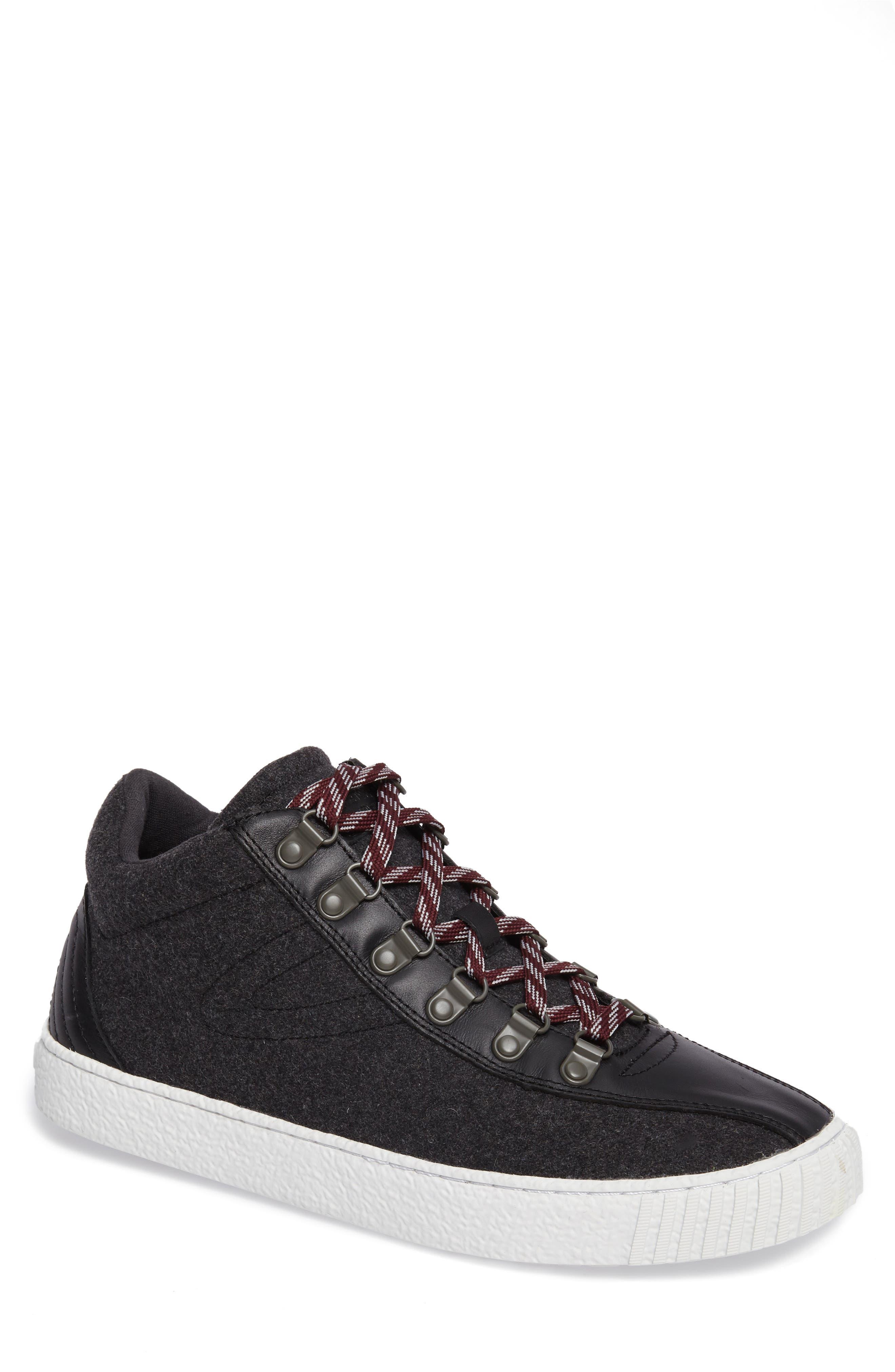Dante Sneaker,                         Main,                         color, Dark Grey/ Black
