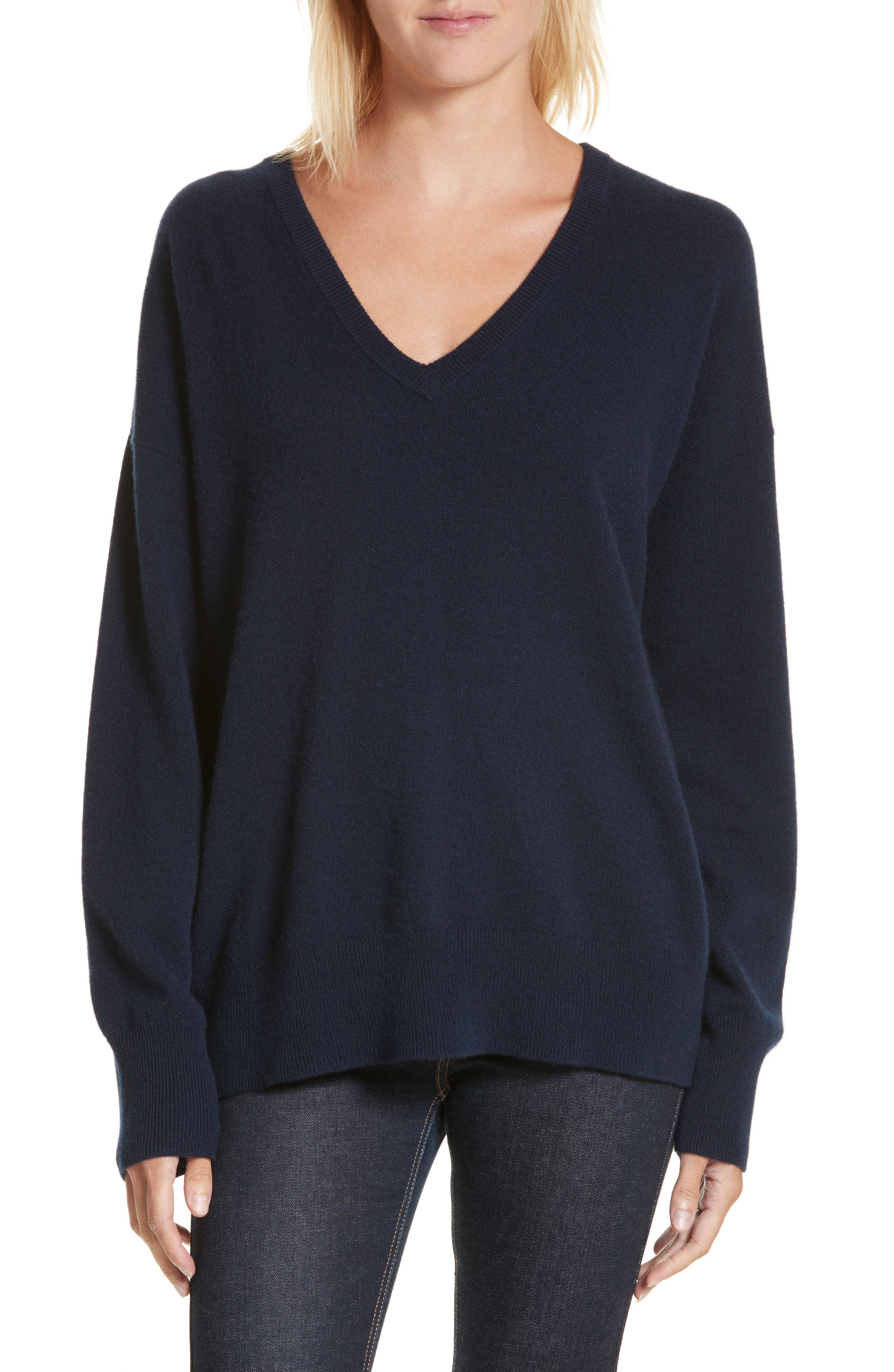 Equipment Lucinda V-Neck Cashmere Pullover
