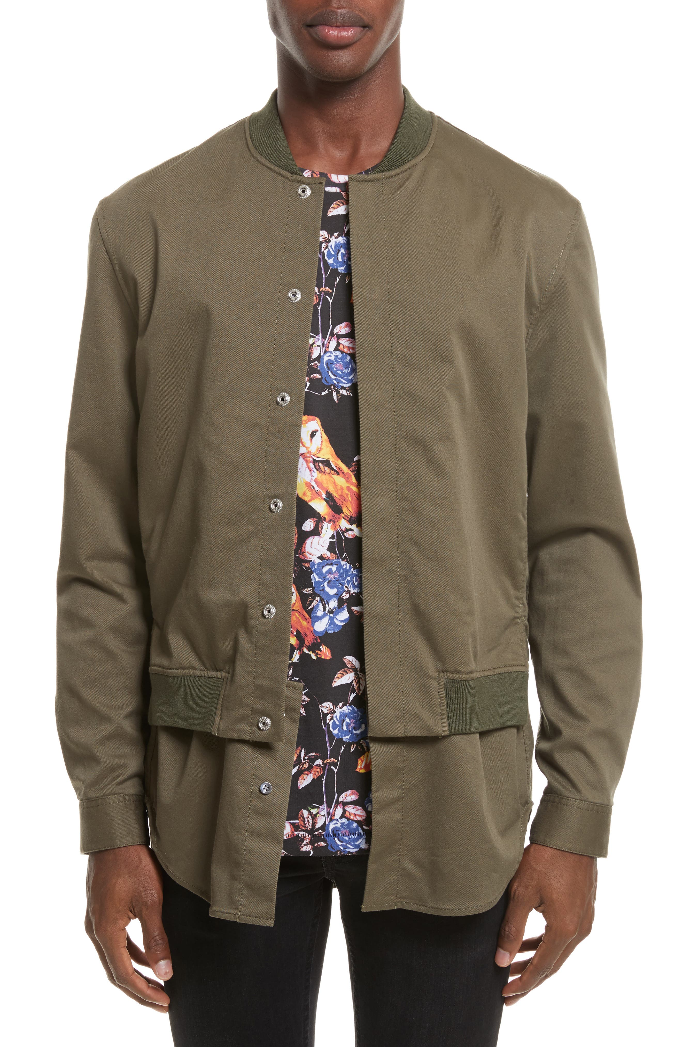 Alternate Image 1 Selected - 3.1 Phillip Lim Bomber Shirt Jacket