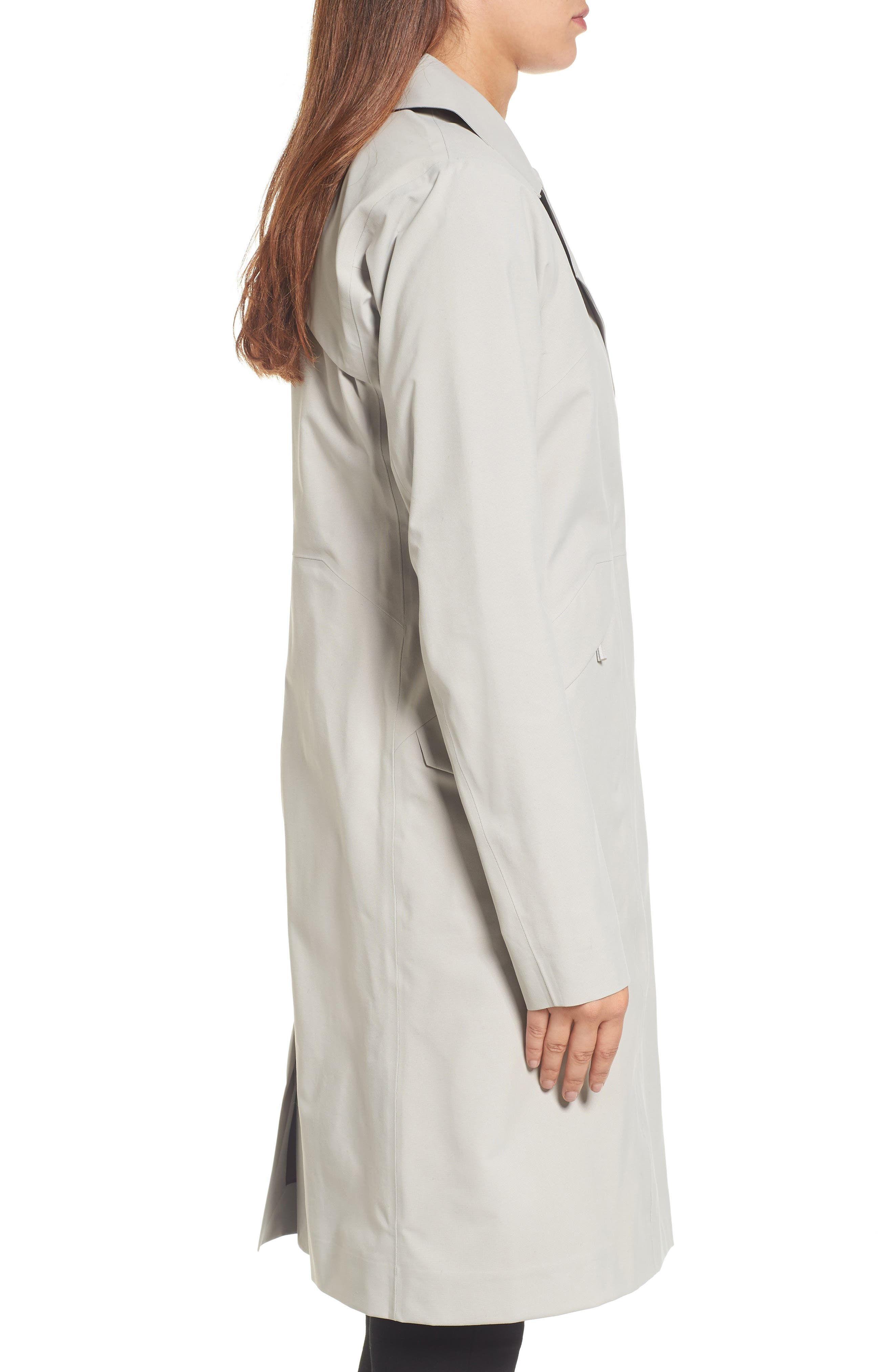 Nila Gore-Tex<sup>®</sup> Trench Coat,                             Alternate thumbnail 3, color,                             Fawn