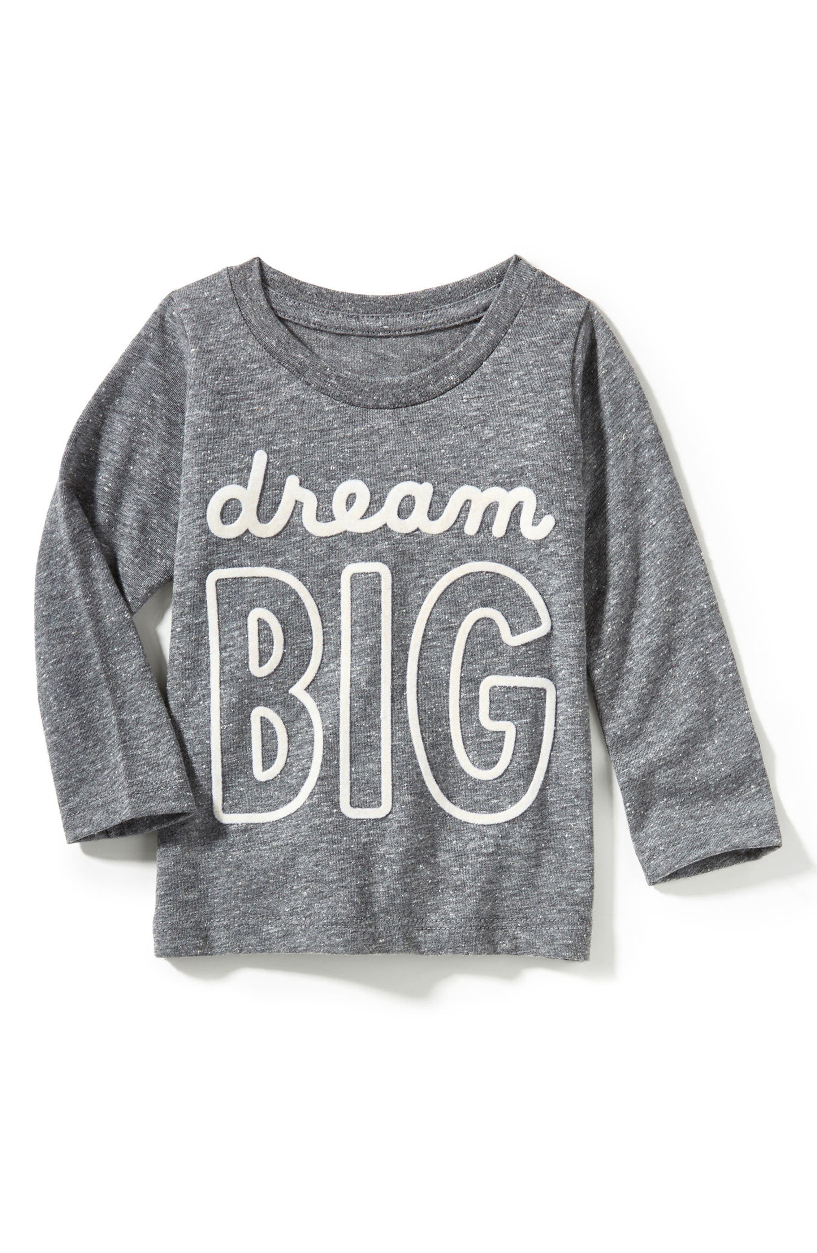 Alternate Image 1 Selected - Peek Dream Big Graphic T-Shirt (Baby)