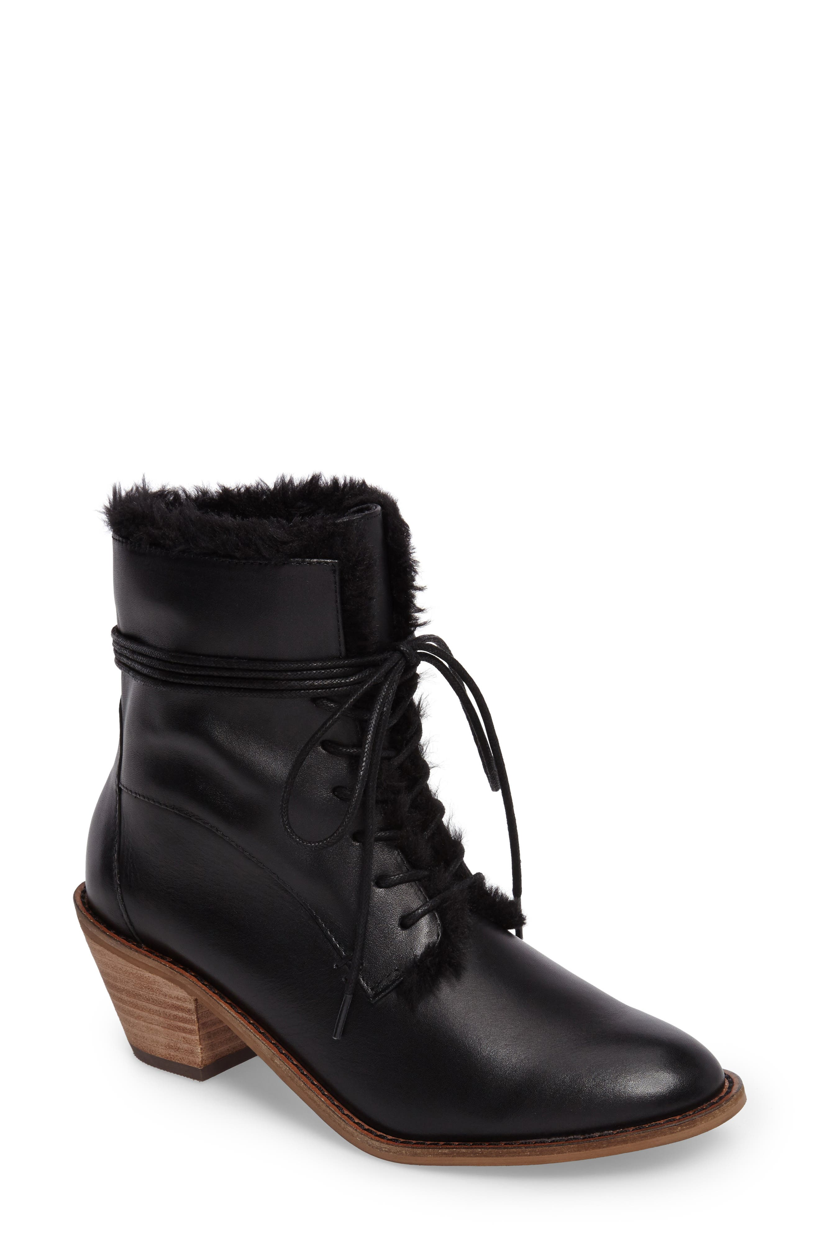 Alternate Image 1 Selected - Kelsi Dagger Brooklyn Kingsdale Lace-Up Bootie (Women)
