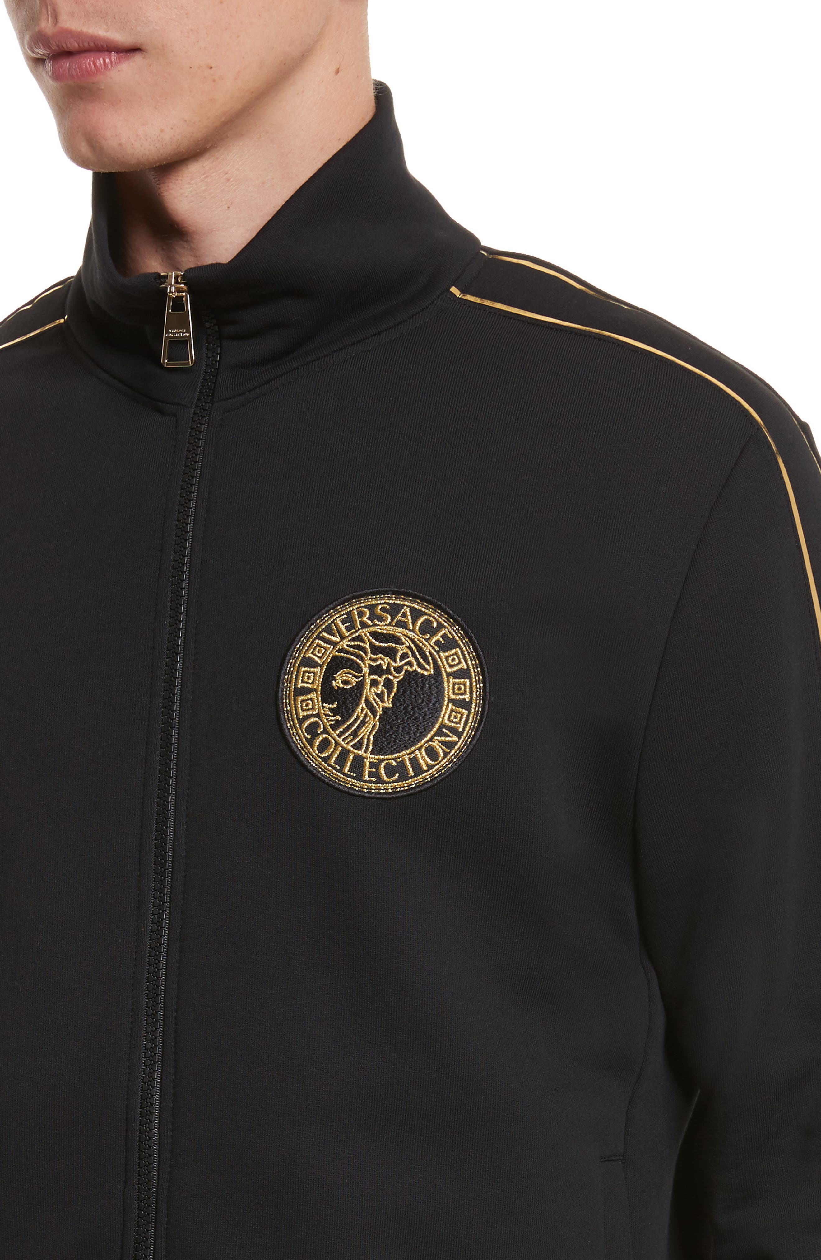 Alternate Image 4  - Versace Collection Track Jacket