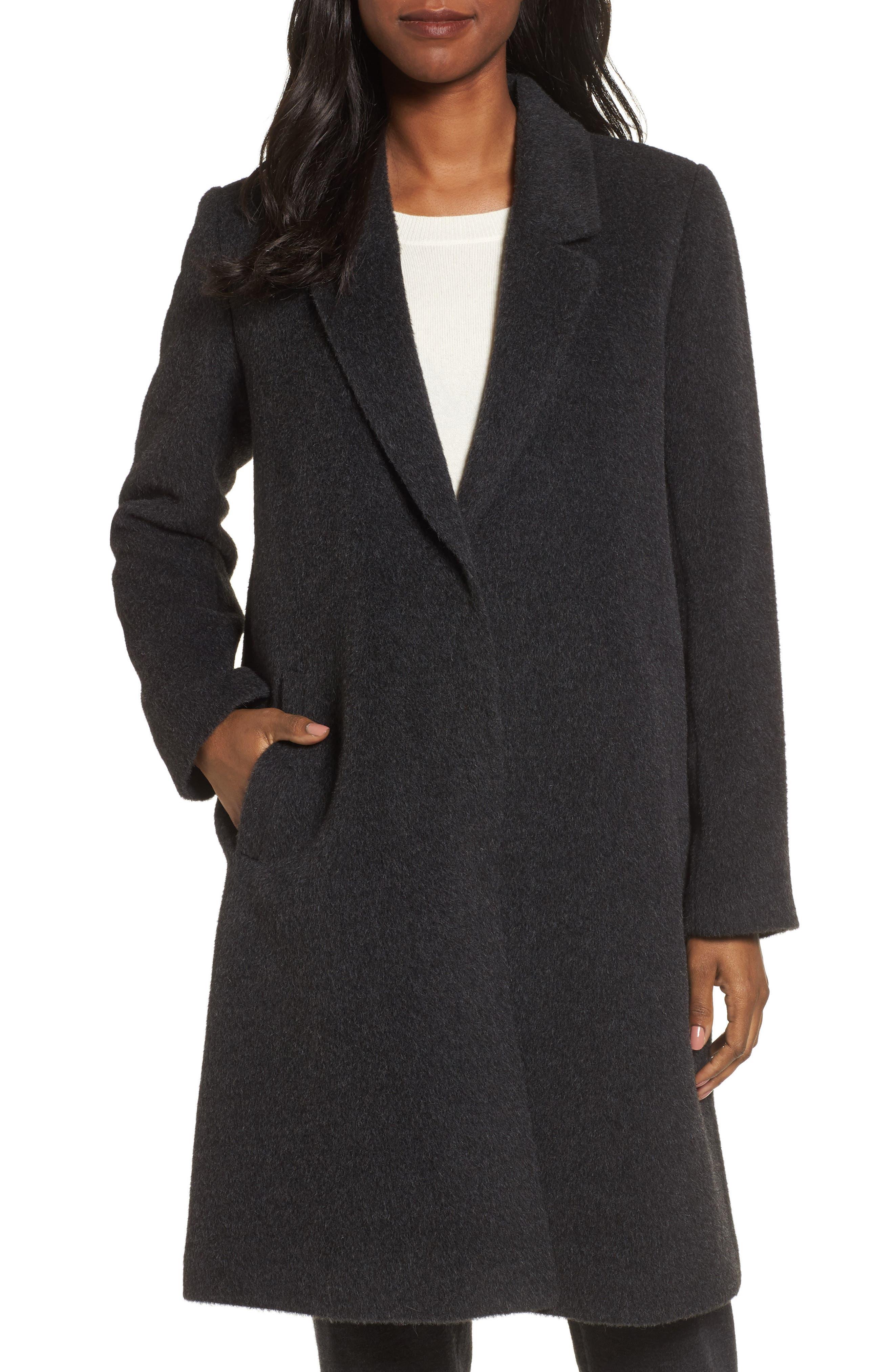 Eileen Fisher Alpaca Blend Coat