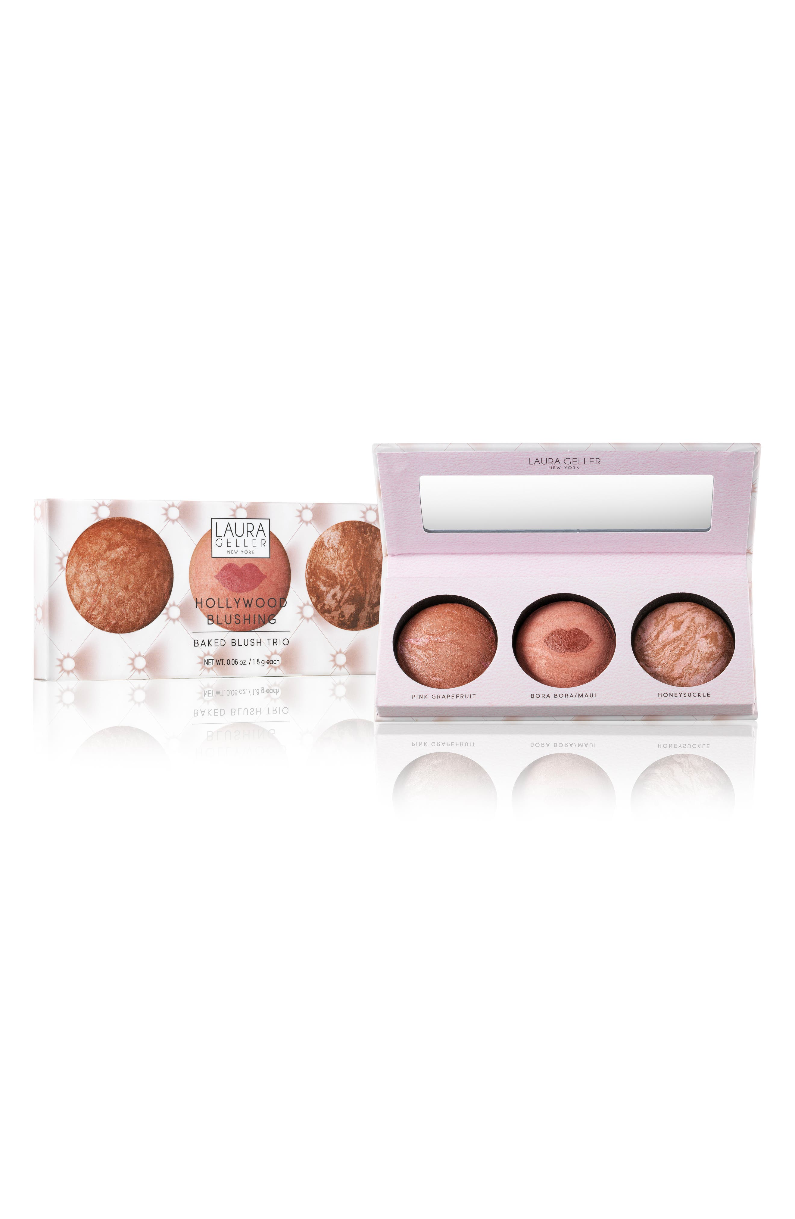 Laura Geller Beauty Hollywood Baked Blush Trio ($72 Value)