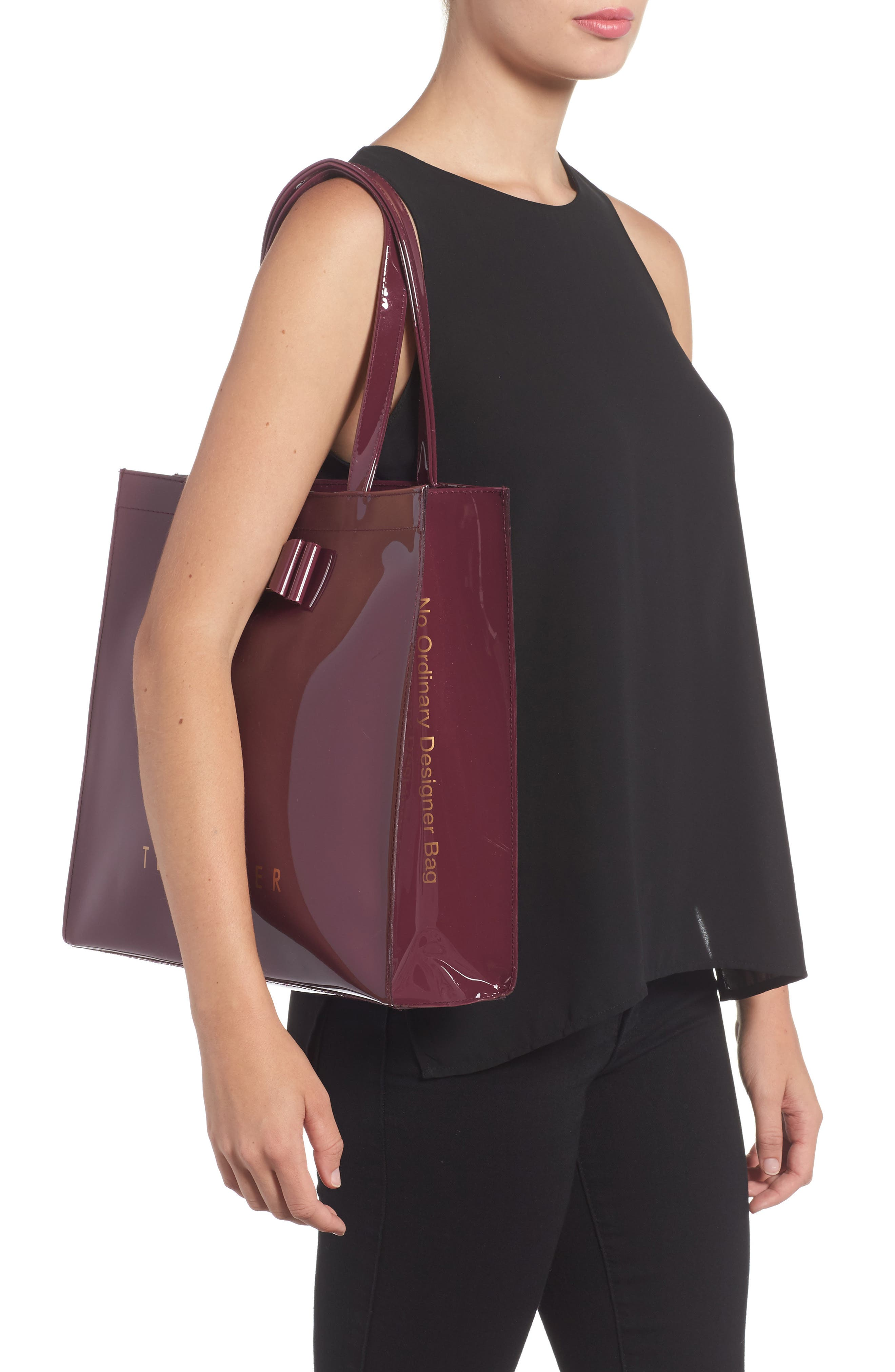 Alternate Image 2  - Ted Baker London Large Icon – Bethcon Bow Tote