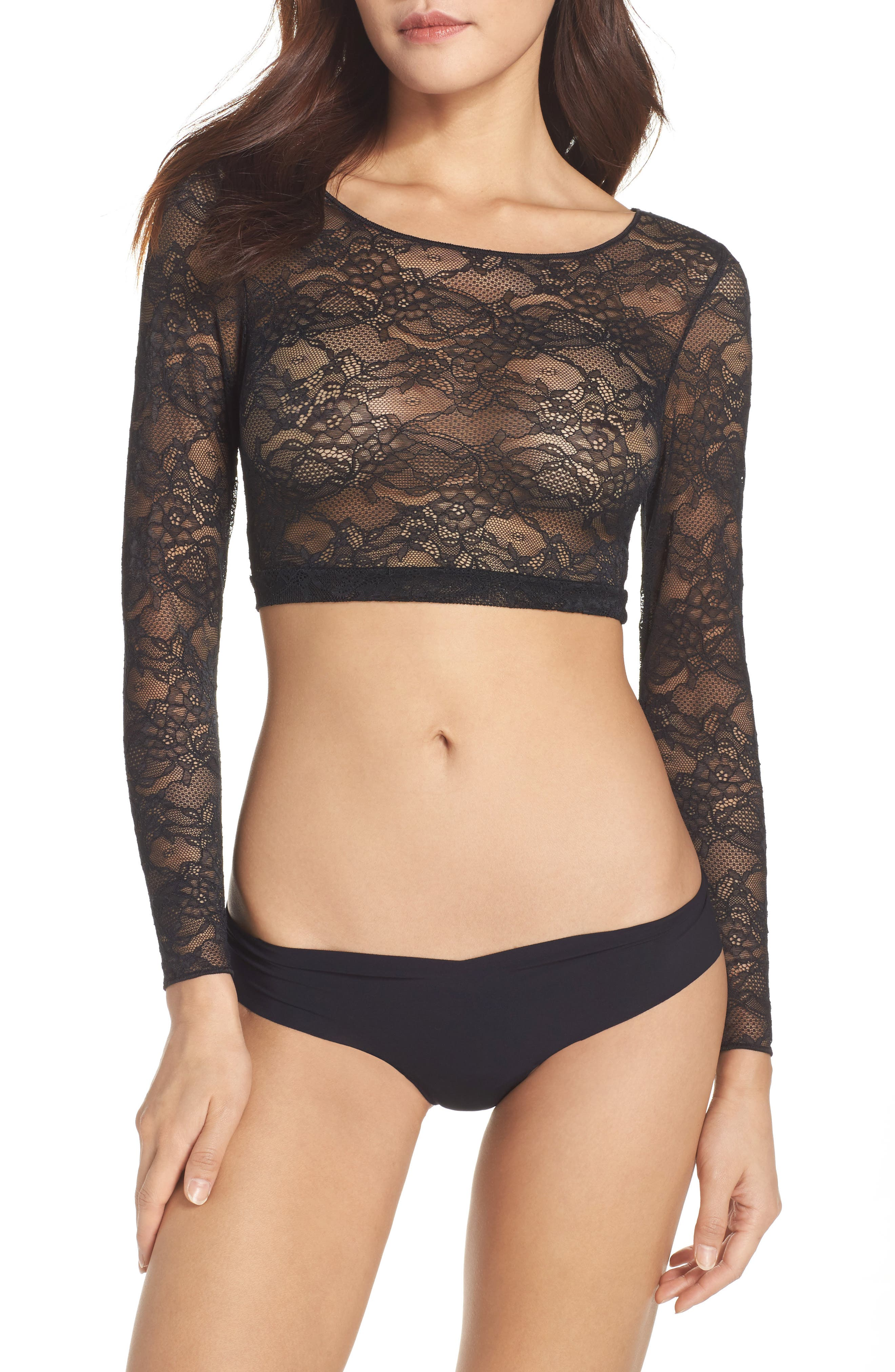 SPANX® Sheer Crop Top
