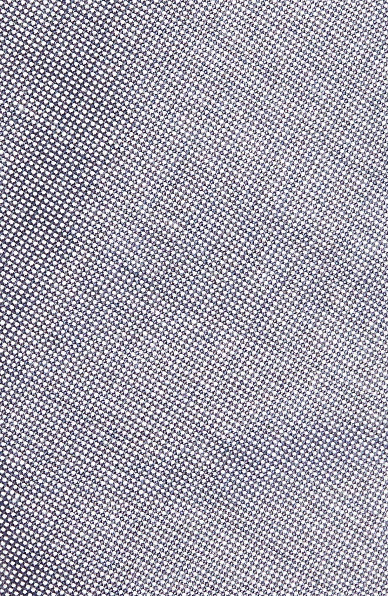 Alternate Image 2  - 1901 Solid Cotton Blend Tie