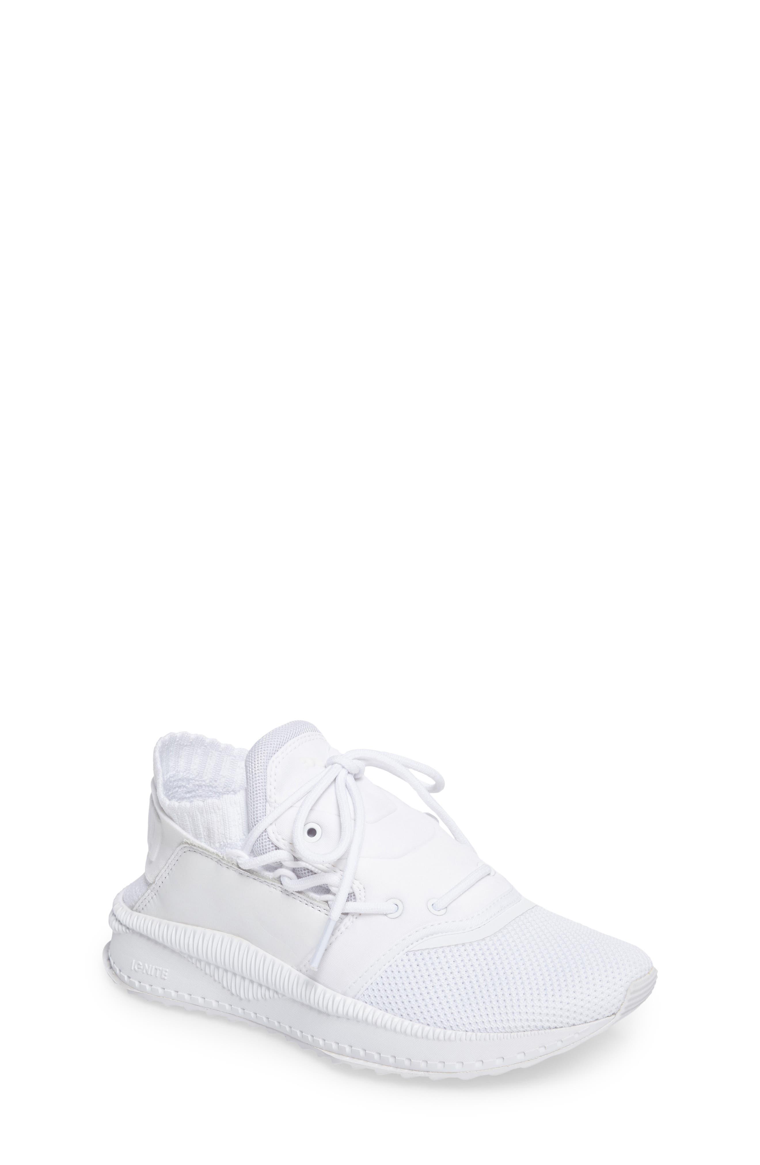 Tsugi Shinsei Jr Training Shoe,                         Main,                         color, White
