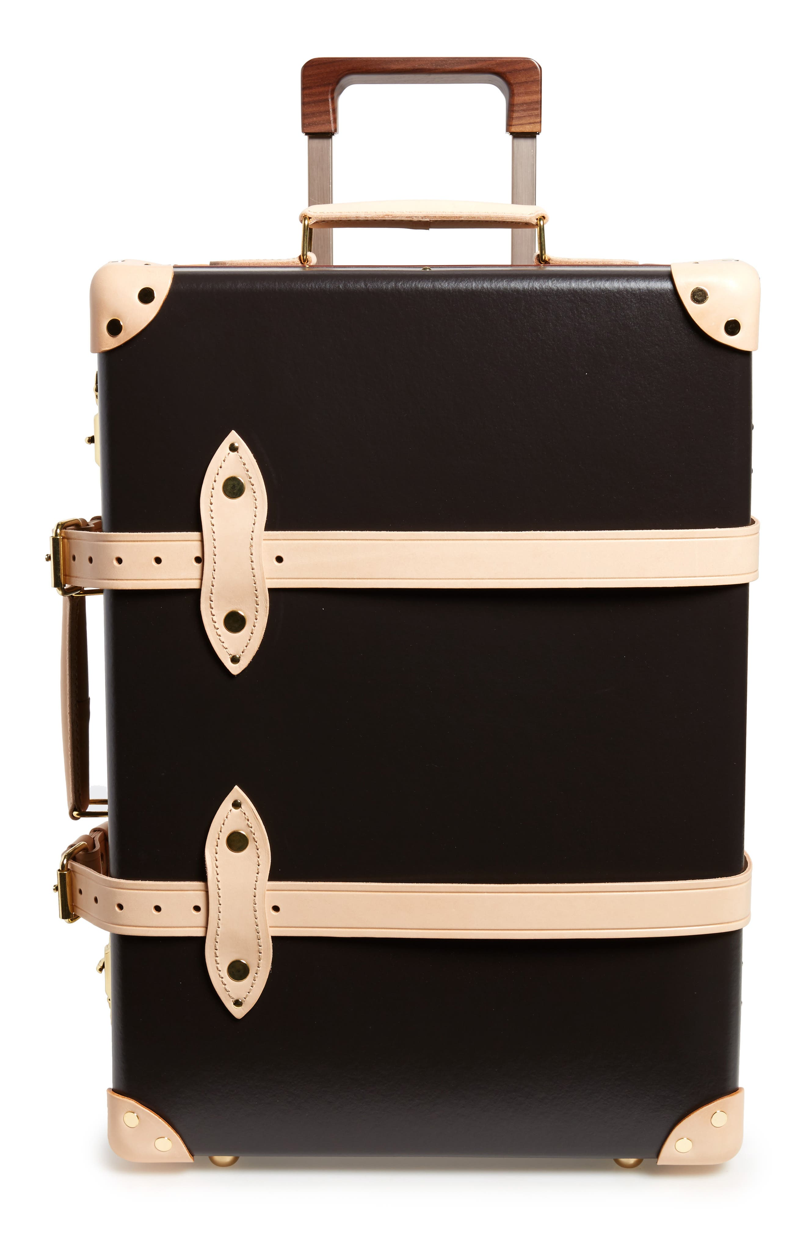 Safari 21-Inch Hardshell Trolley Travel Case,                         Main,                         color, Colonial/Natural