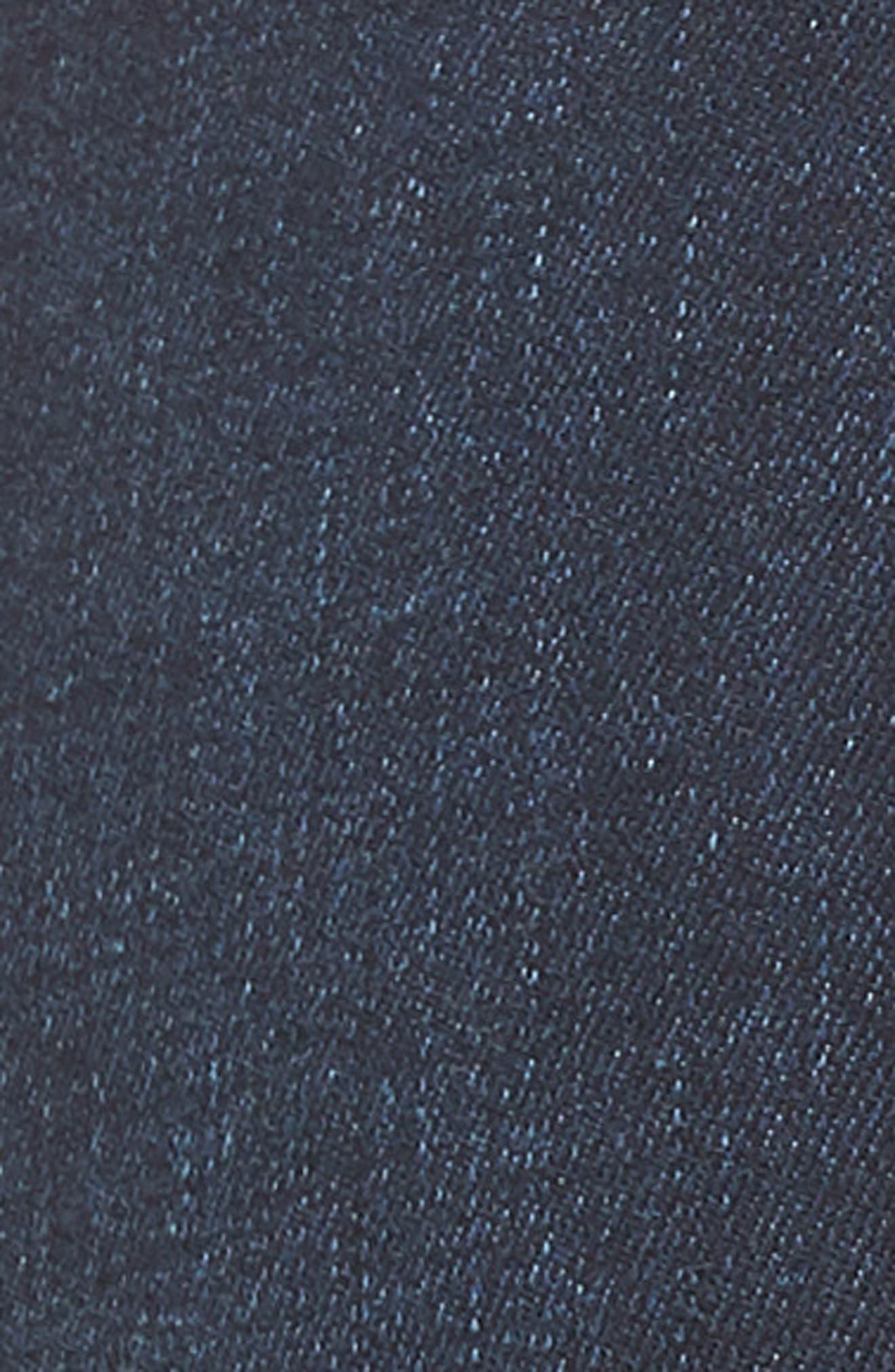 Ankle Skinny Jeans,                             Alternate thumbnail 5, color,                             Dark Wash