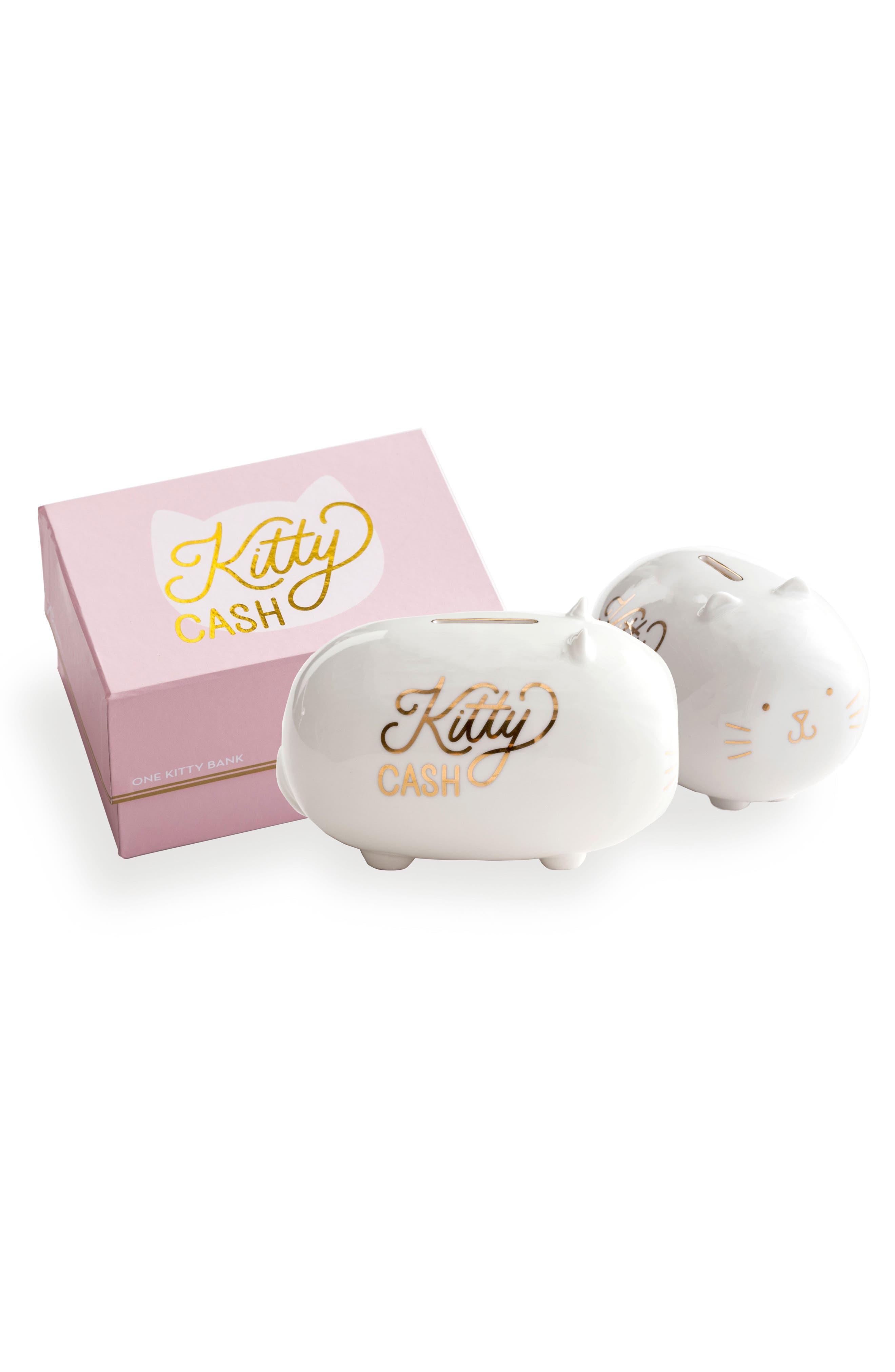 Rosanna Kitty Cash Porcelain Bank