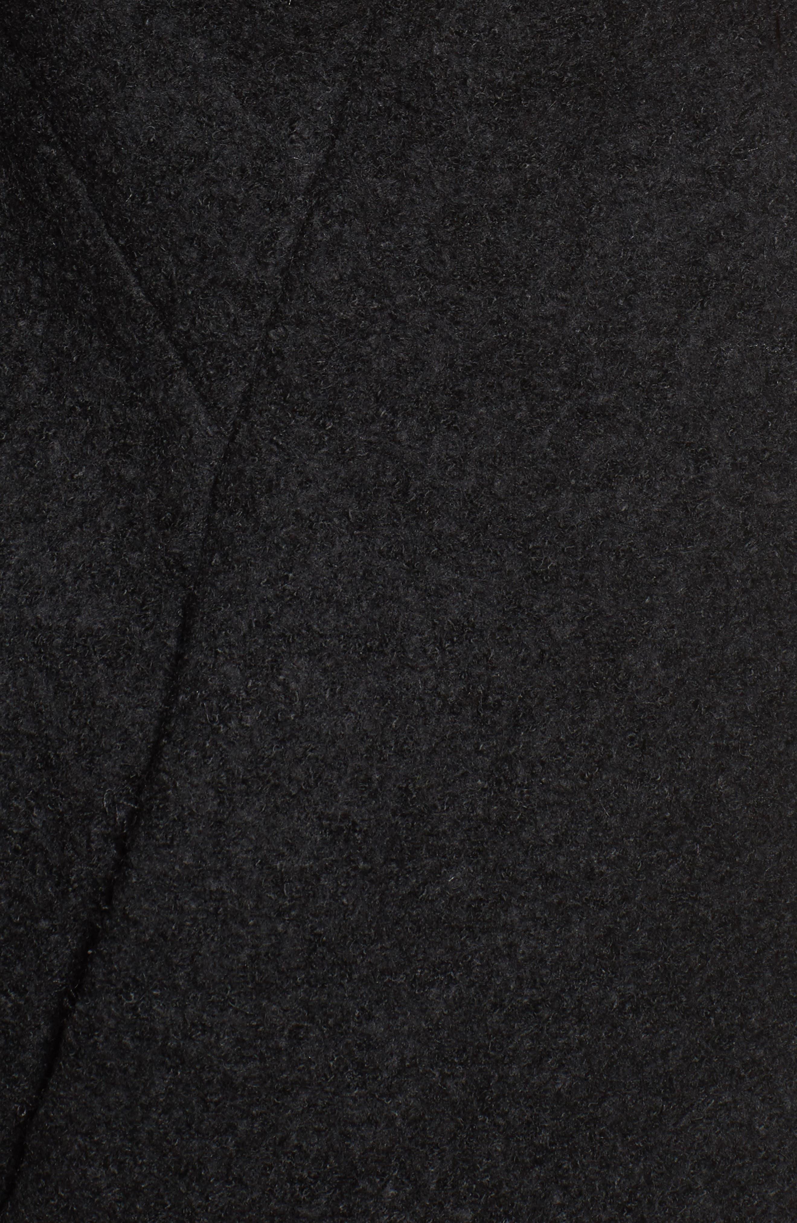 Car Coat,                             Alternate thumbnail 5, color,                             Black