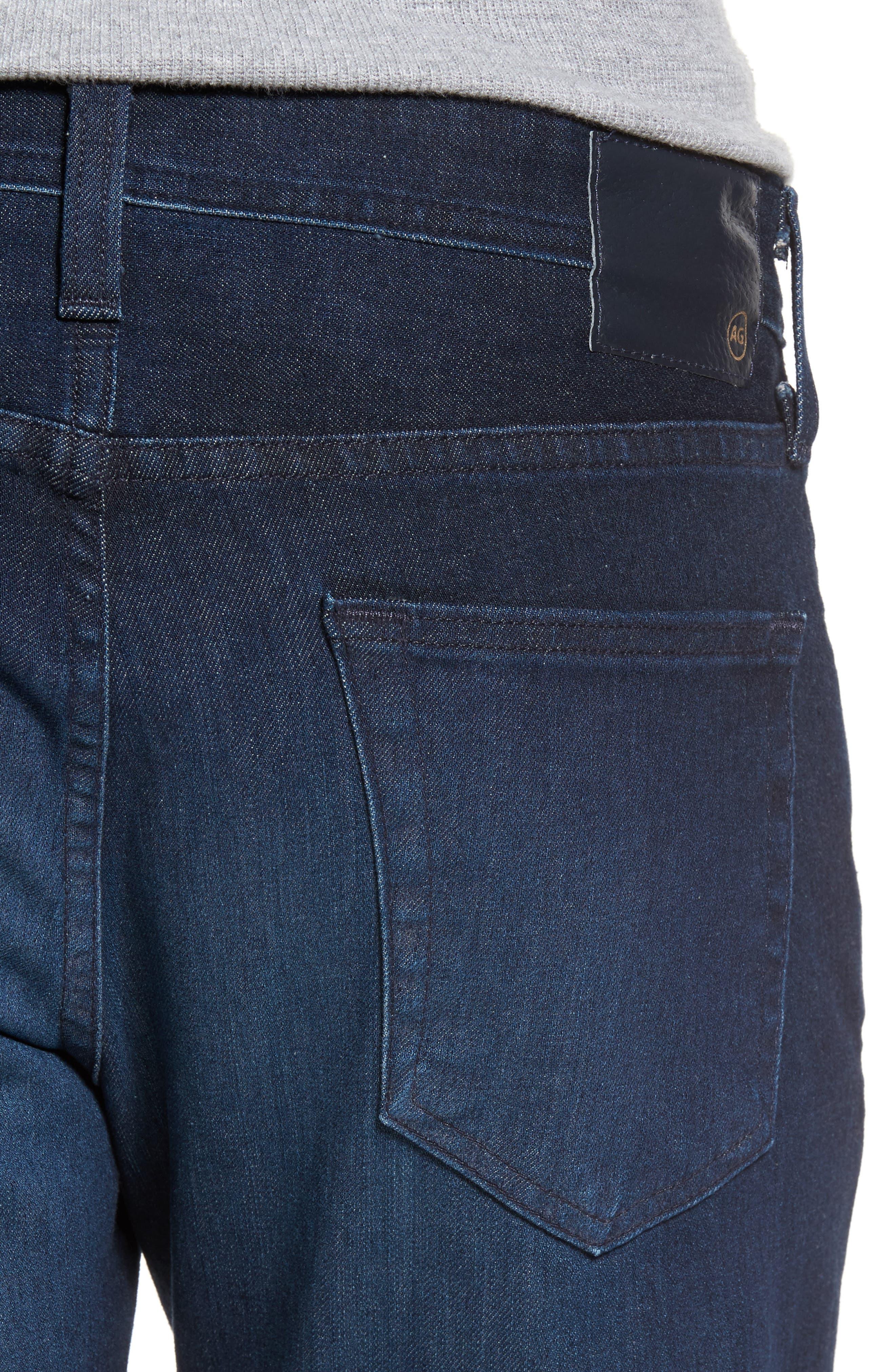 Tellis Slim Leg Jeans,                             Alternate thumbnail 4, color,                             Vibe