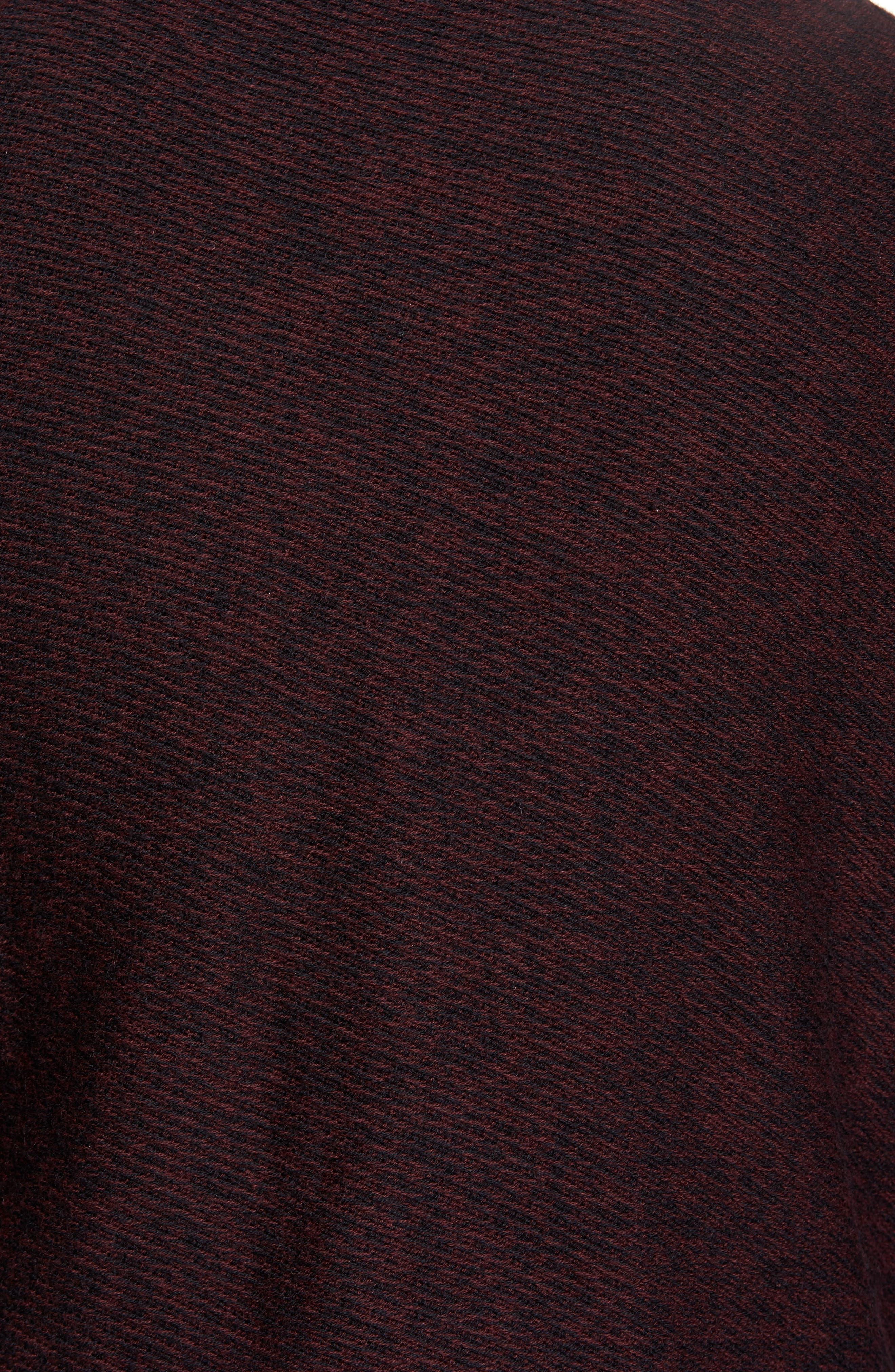 Alternate Image 5  - Nordstrom Men's Shop Cotton & Cashmere V-Neck Sweater