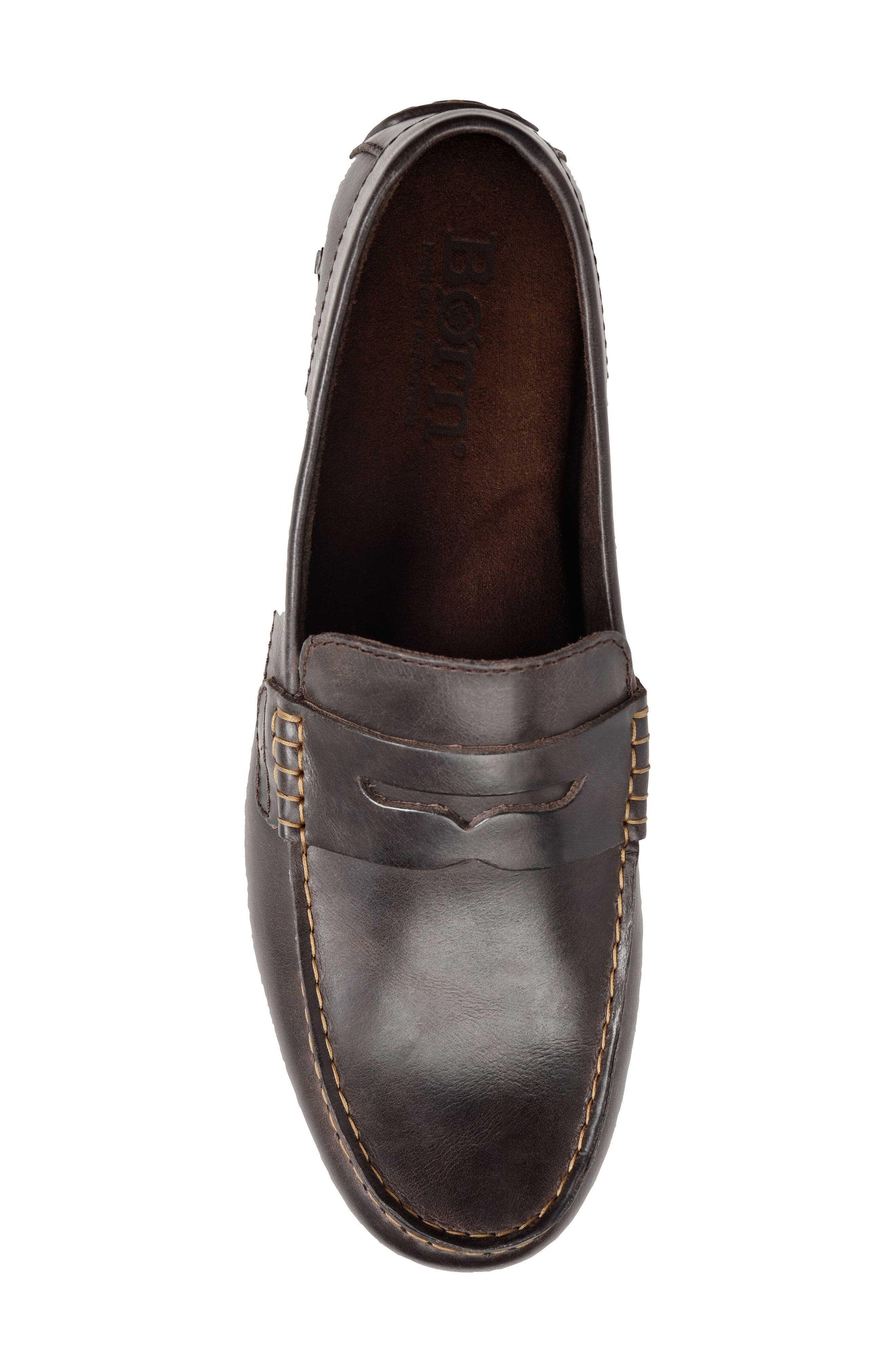 Andes Driving Shoe,                             Alternate thumbnail 5, color,                             Chocolate
