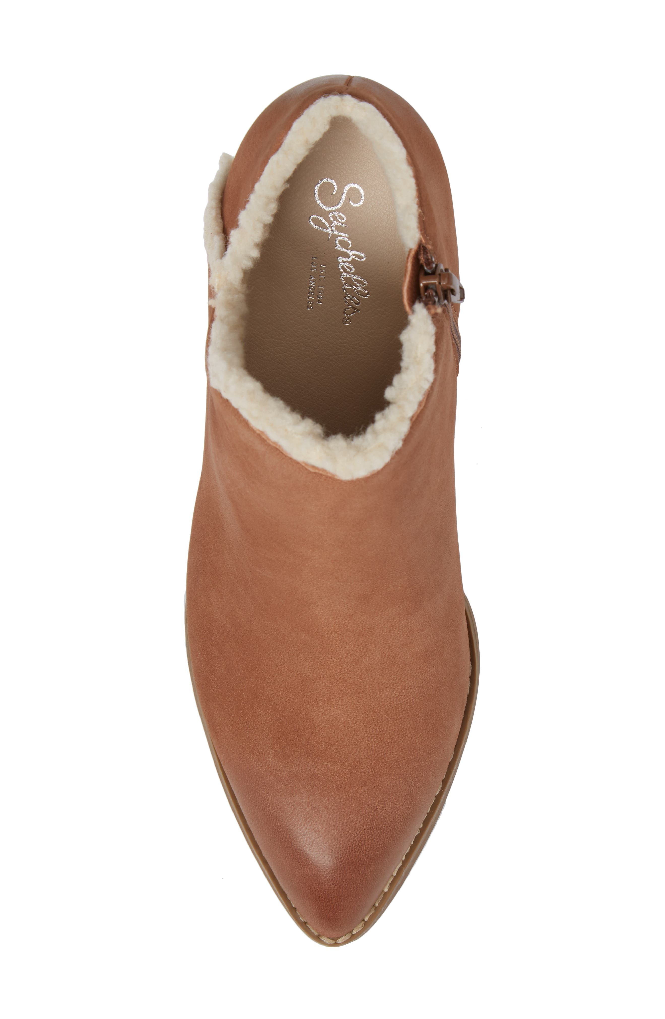Alternate Image 5  - Seychelles Preview Faux Fur Lined Bootie (Women)
