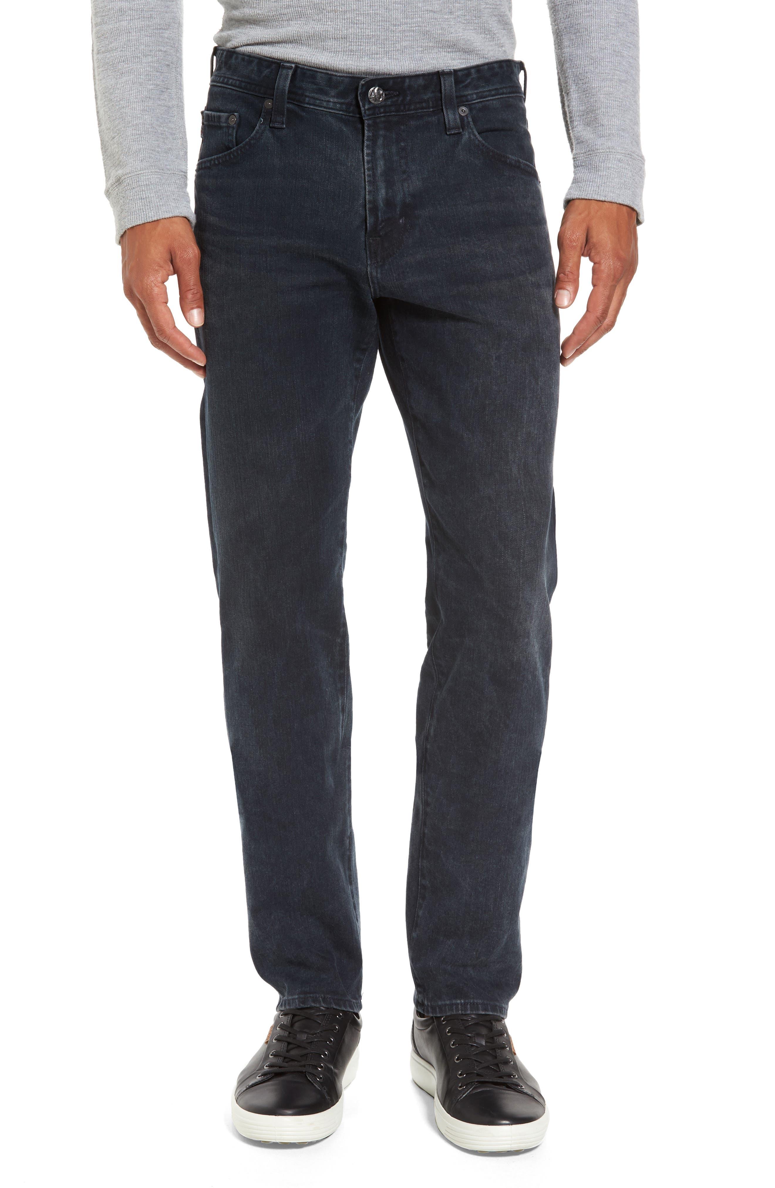 Graduate Slim Straight Leg Jeans,                         Main,                         color, 6 Years Night Scene