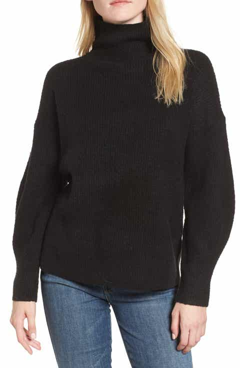 Women's Black Turtleneck Sweaters | Nordstrom