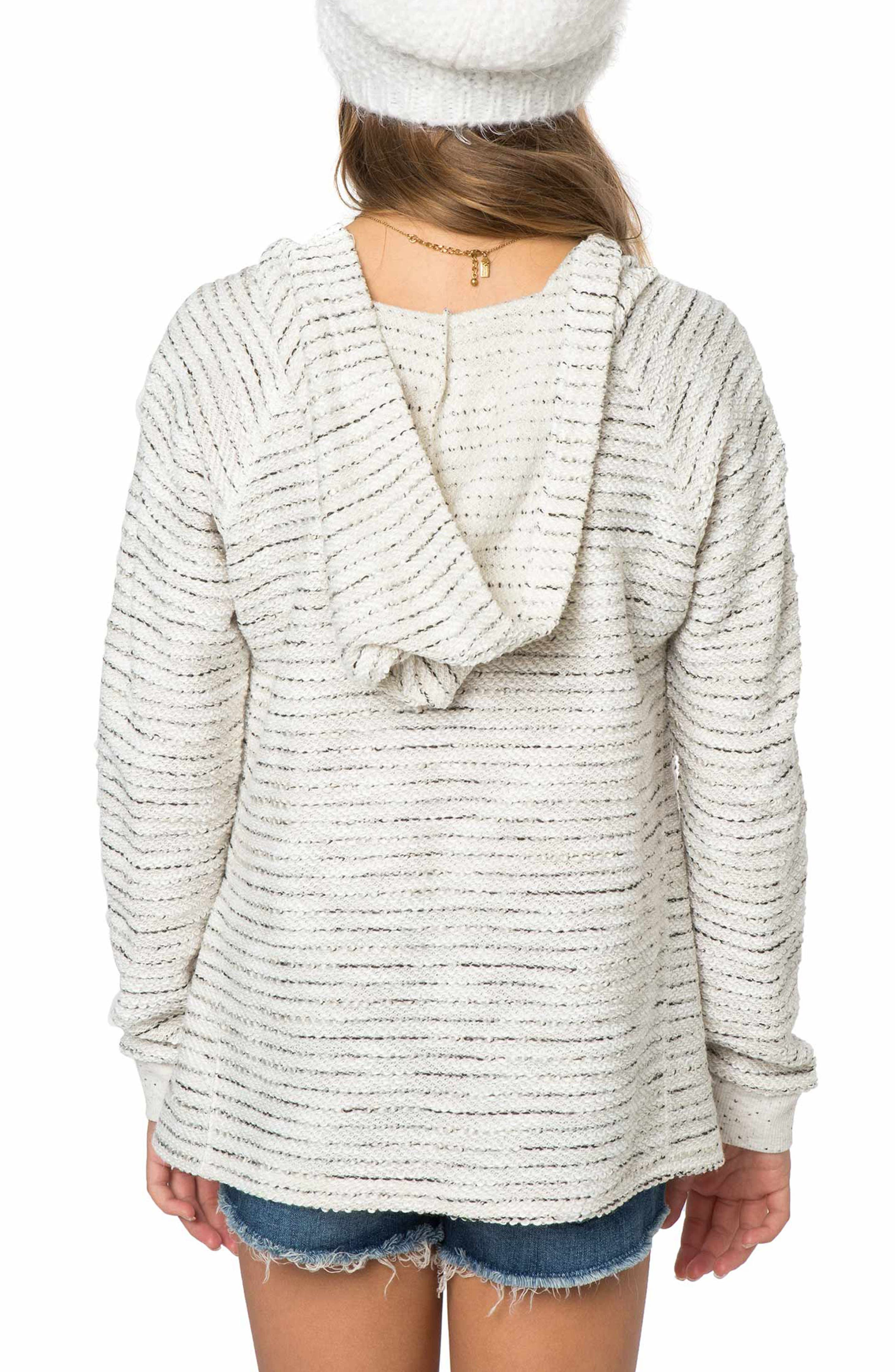 Aspen Stripe Hoodie,                             Alternate thumbnail 2, color,                             Naked