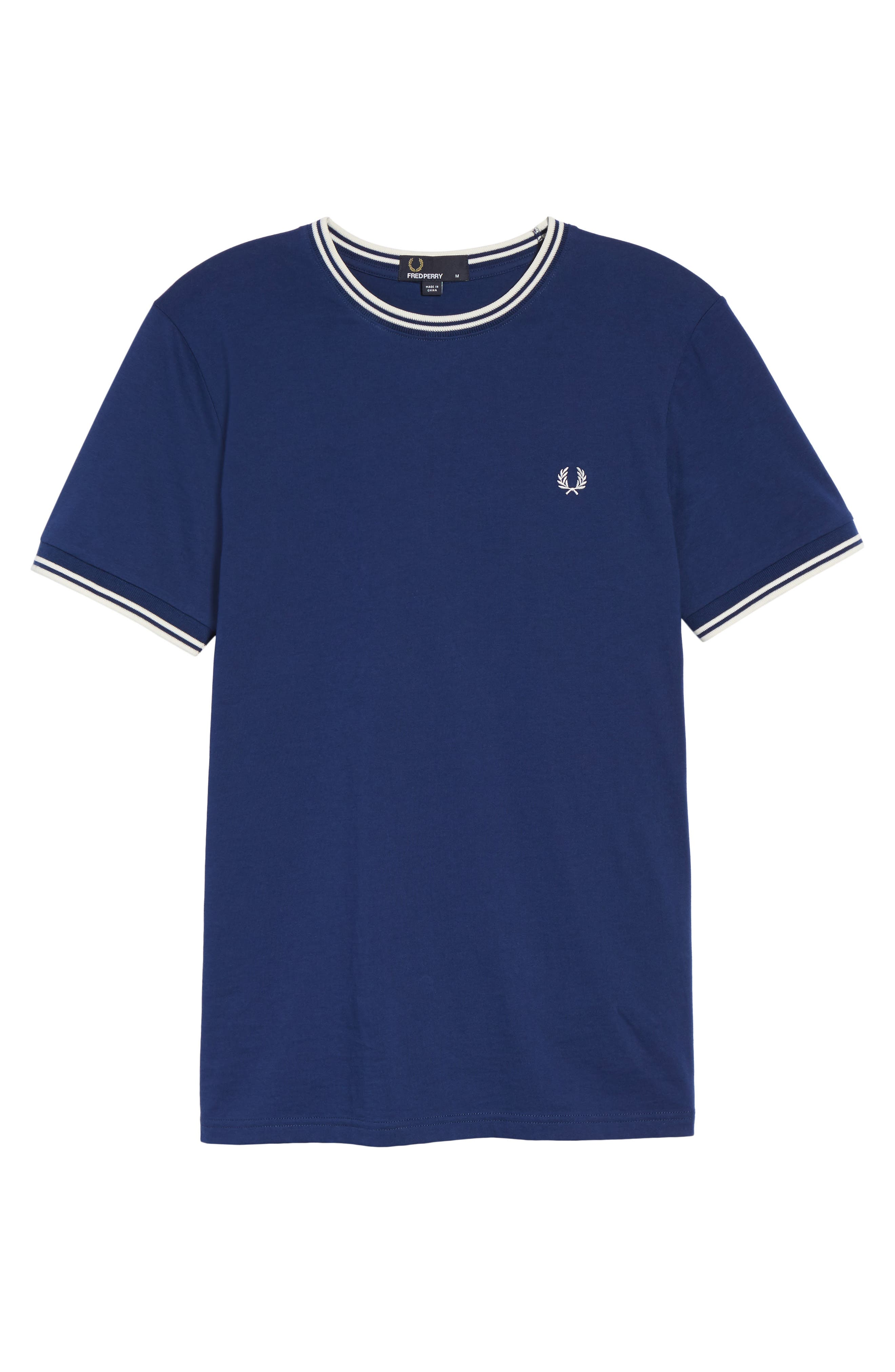Alternate Image 5  - Fred Perry Contrast Trim T-Shirt