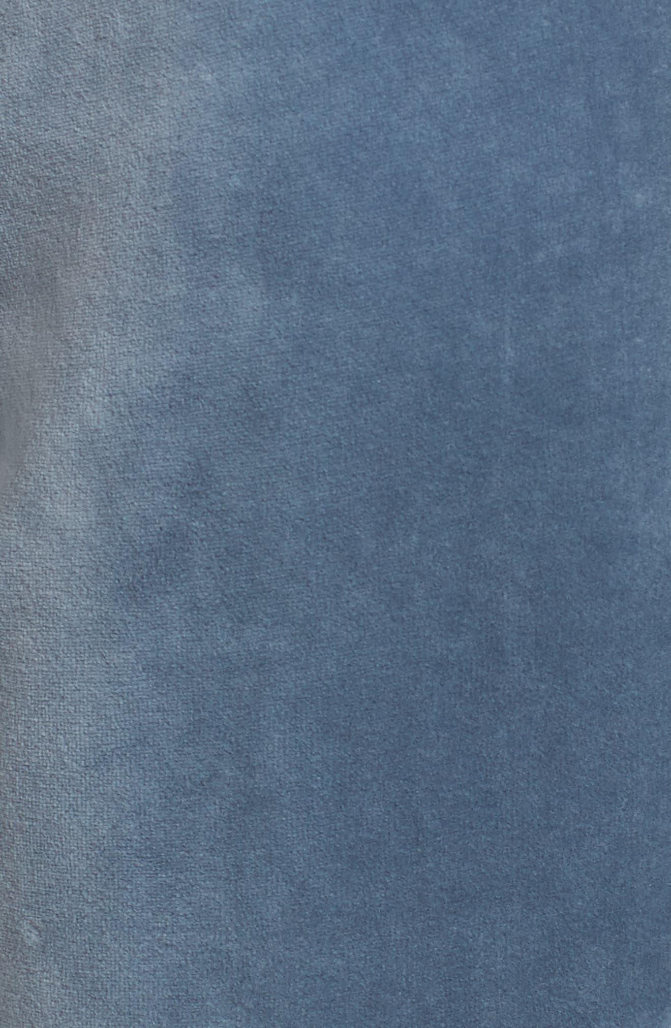 Alternate Image 5  - Juicy Couture Zuma Crystal Velour Pants