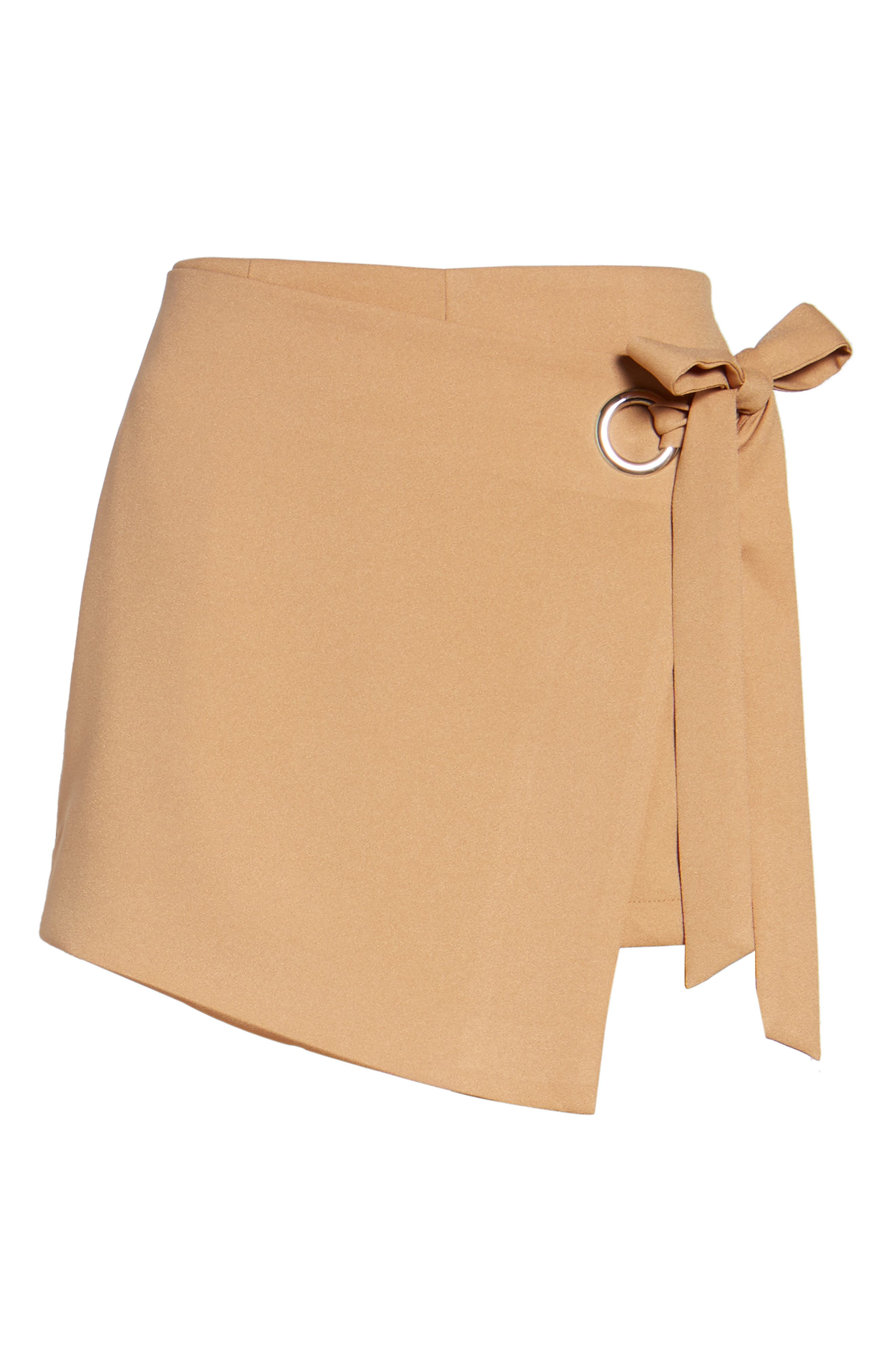 Alternate Image 6  - STOREE Grommet Mini Skort