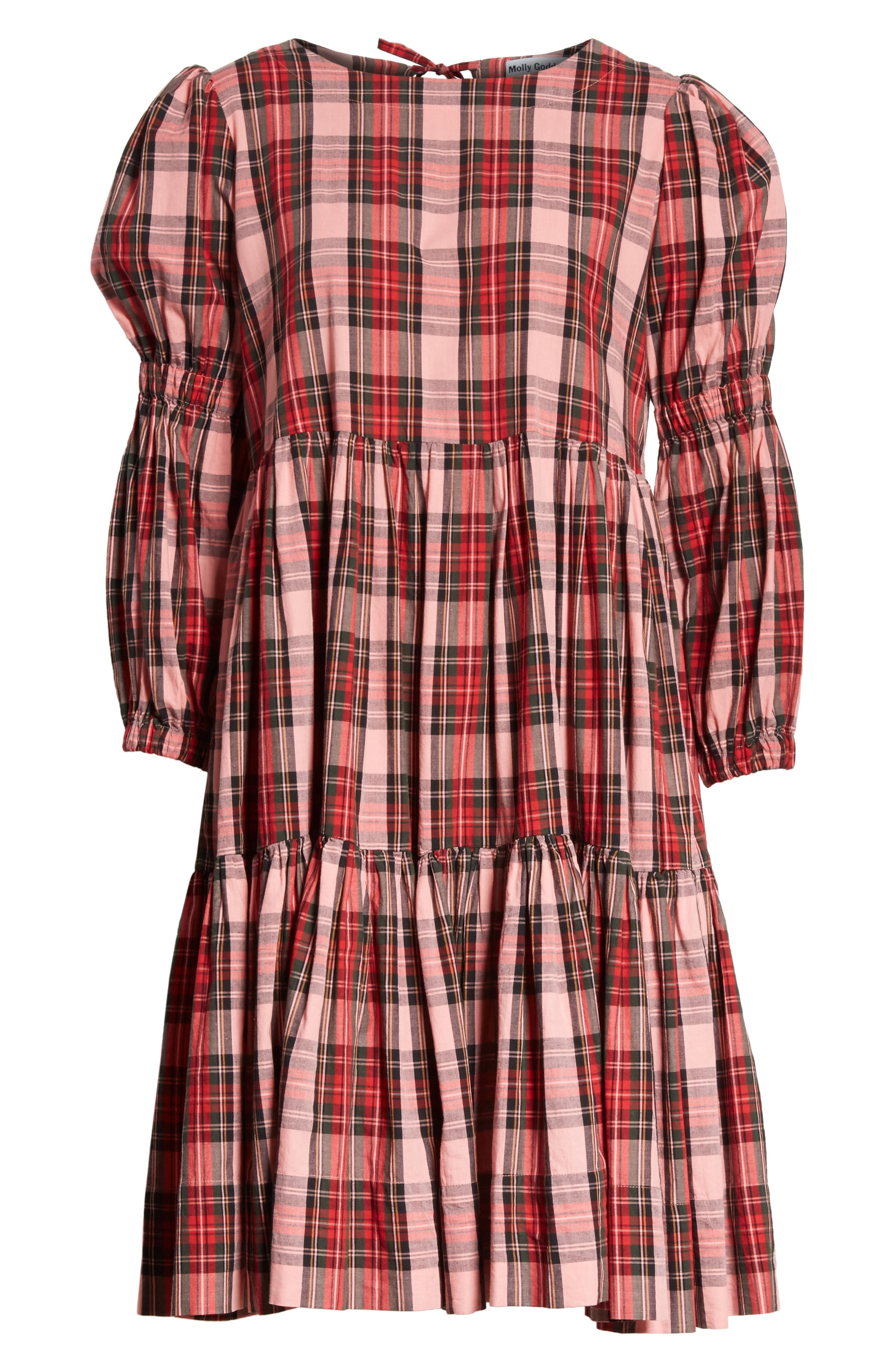 Alternate Image 6  - Molly Goddard Martha Tartan Dress