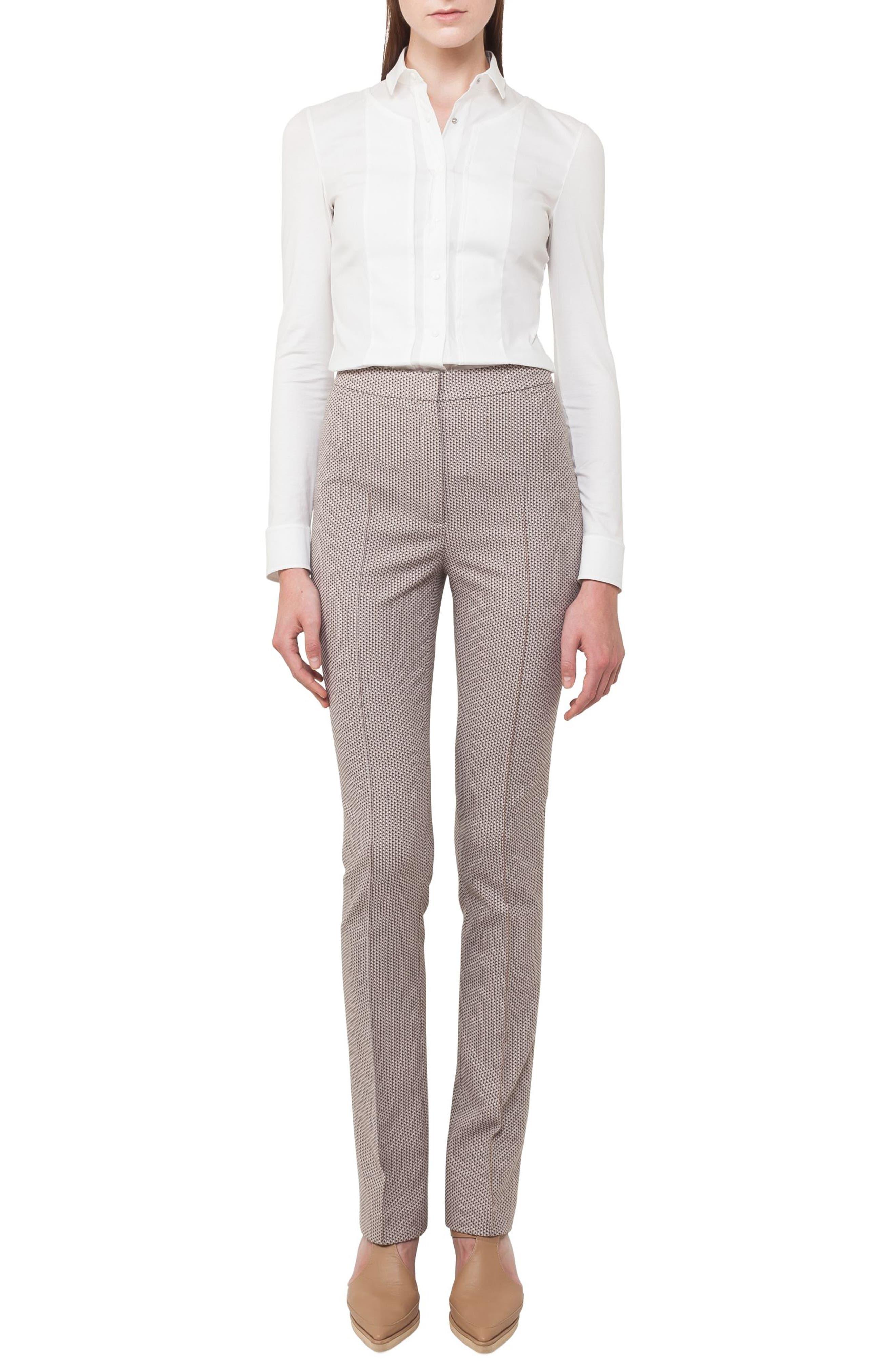Alternate Image 4  - Akris punto Claire Stretch Cotton Pants