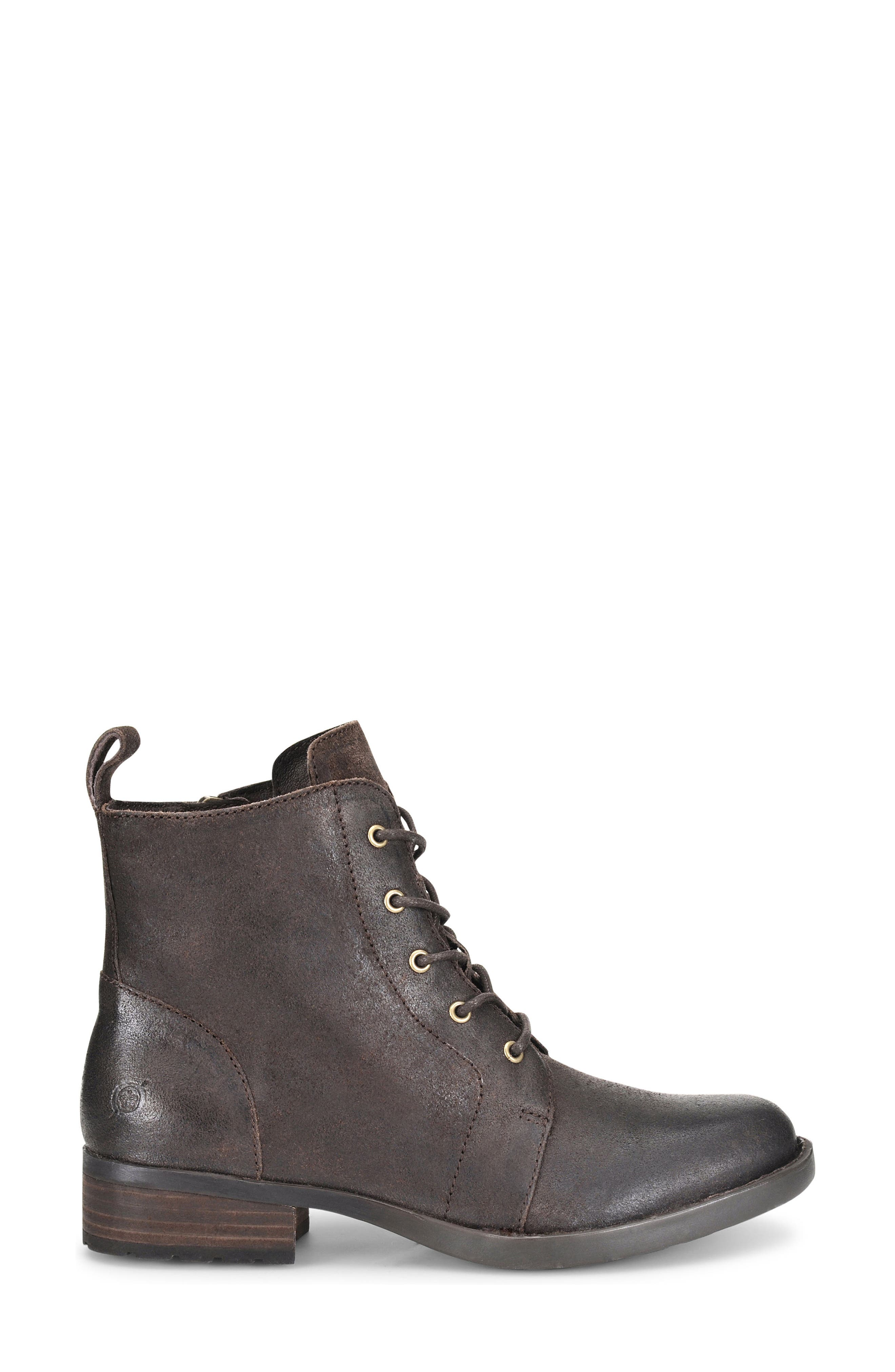 Alternate Image 3  - Børn Troye Vintage Lace-Up Boot (Women)