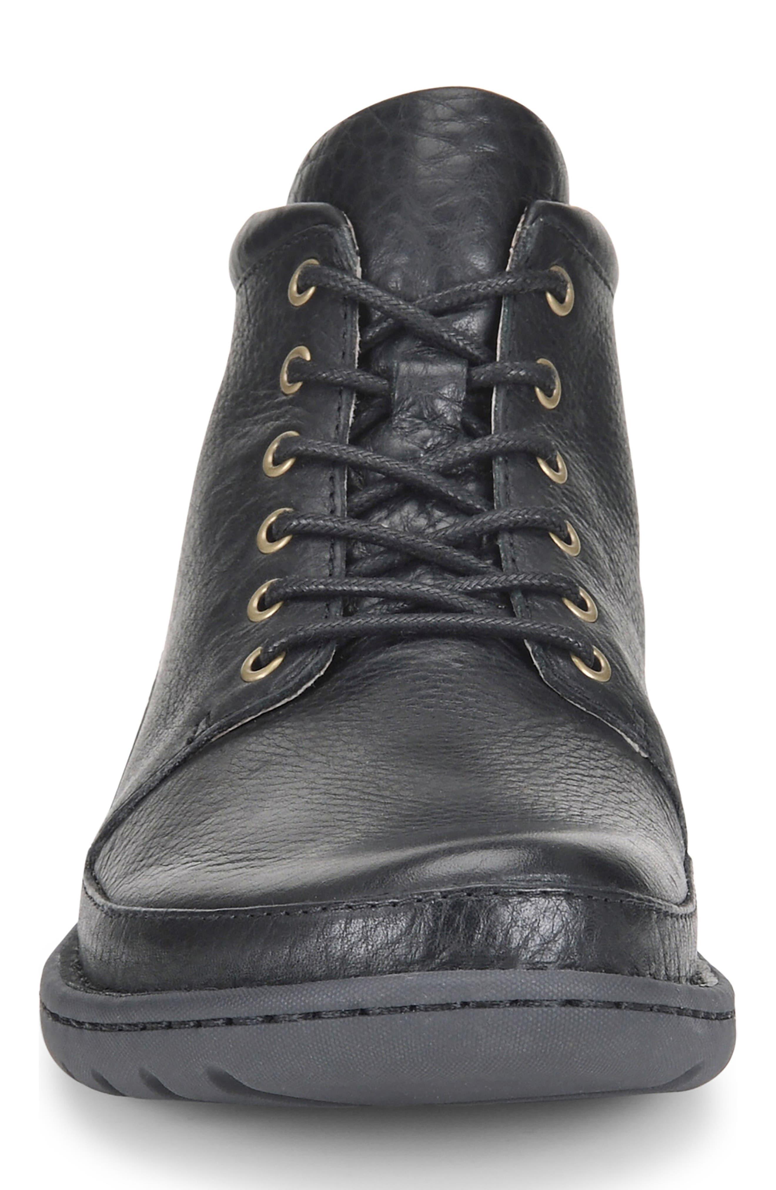 Nigel Low Boot,                             Alternate thumbnail 4, color,                             Black